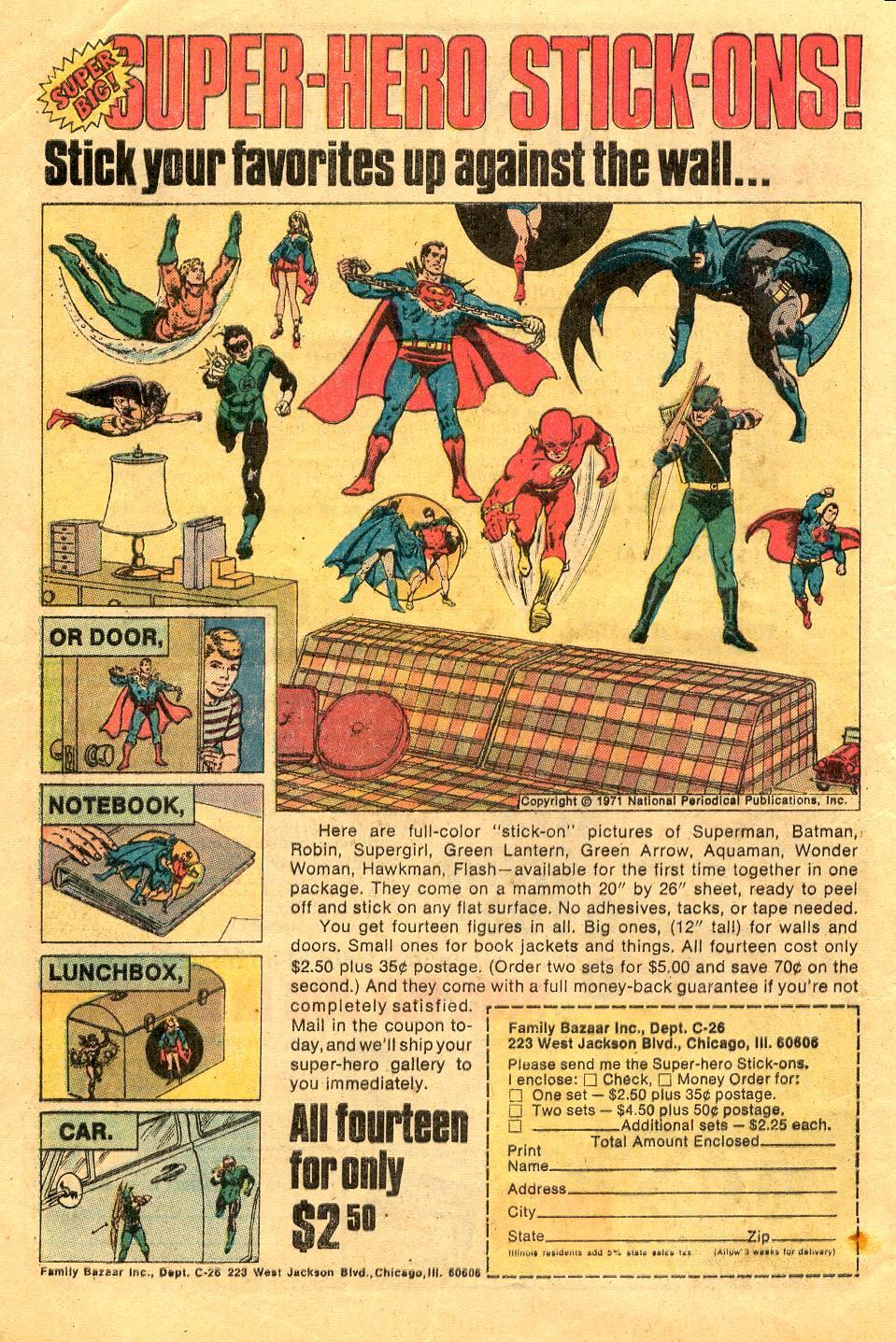 Read online Secret Origins (1973) comic -  Issue #6 - 8