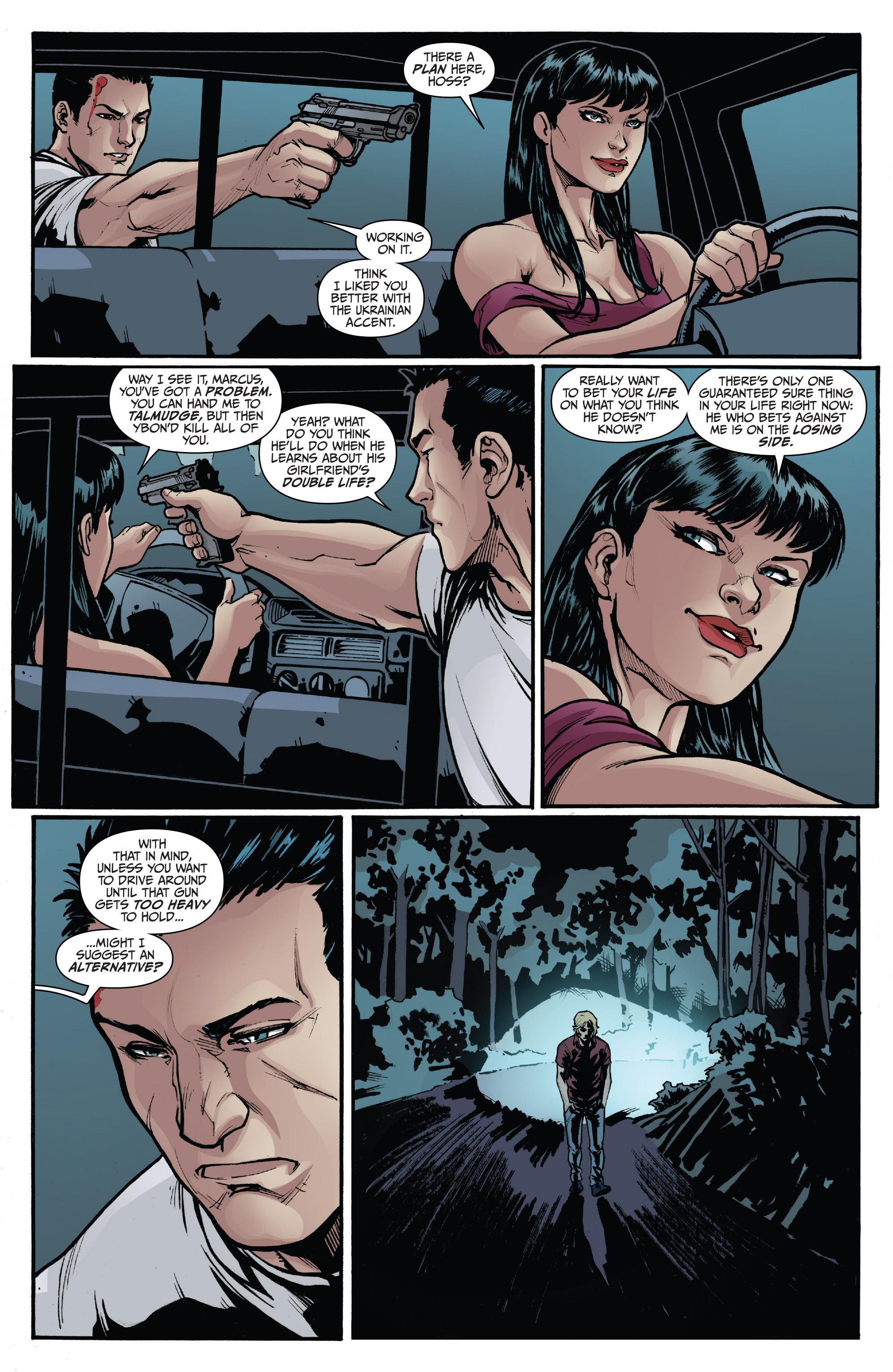 Read online 3 Guns comic -  Issue #4 - 4