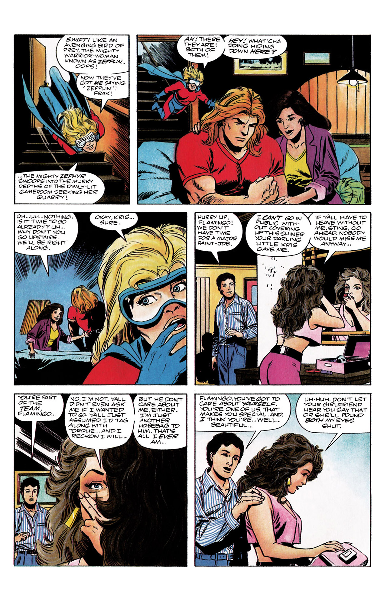 Read online Harbinger (1992) comic -  Issue #3 - 3
