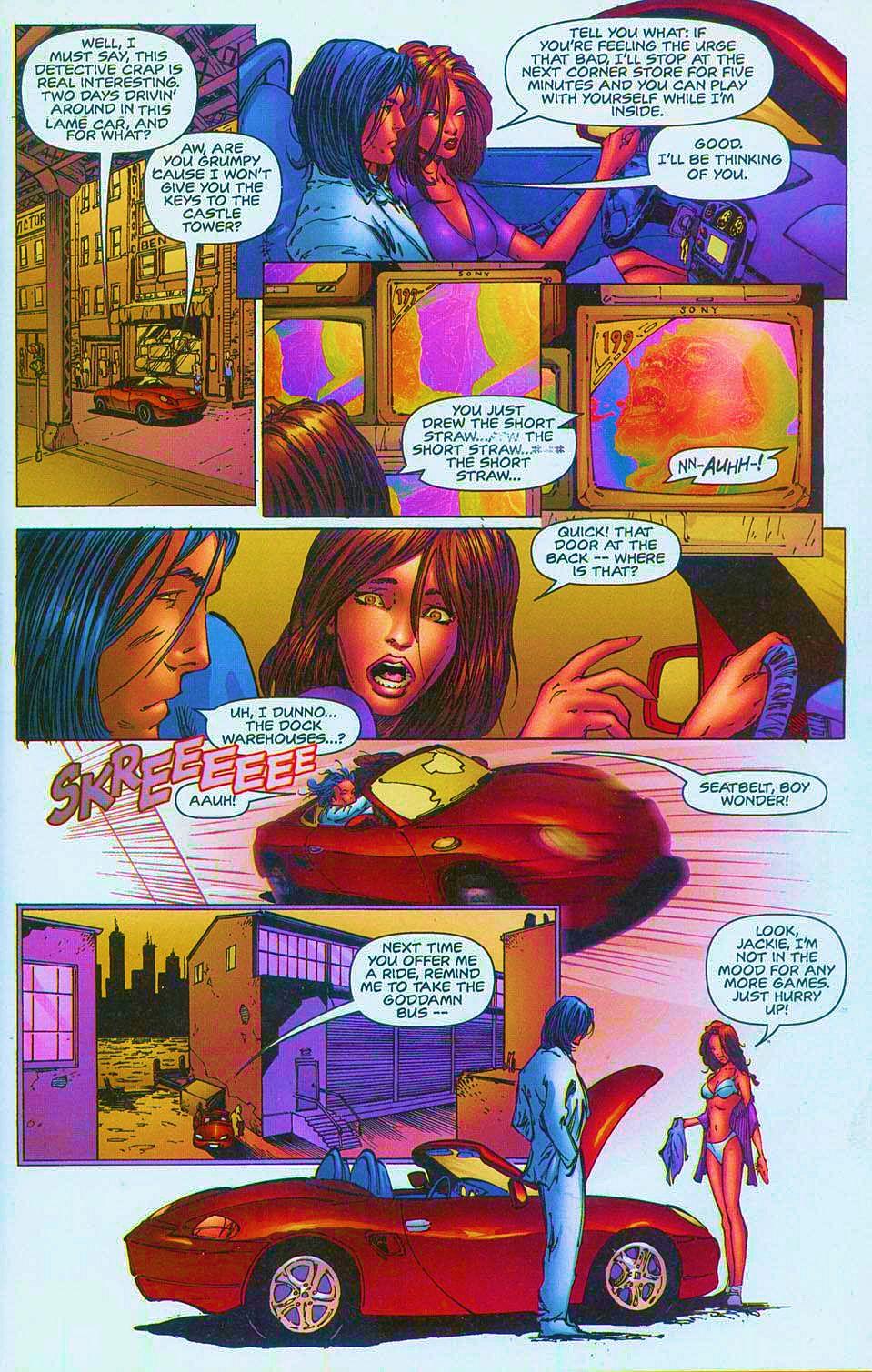 Read online Overkill: Witchblade/Aliens/Darkness/Predator comic -  Issue #1 - 32