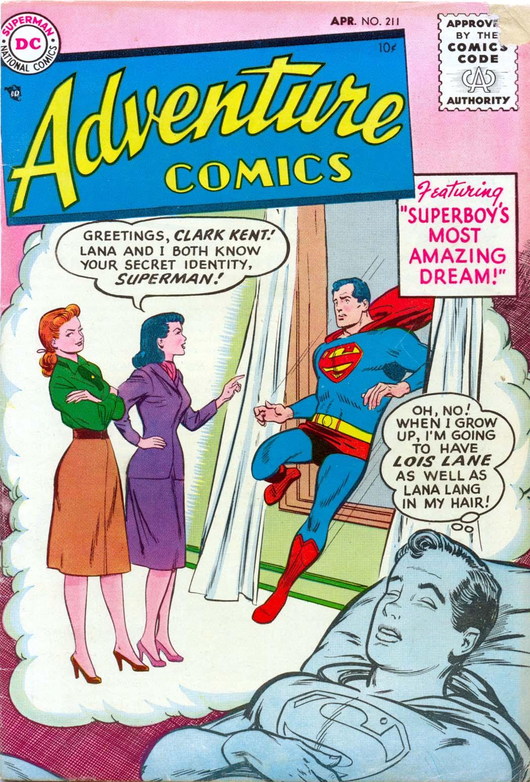Read online Adventure Comics (1938) comic -  Issue #211 - 1