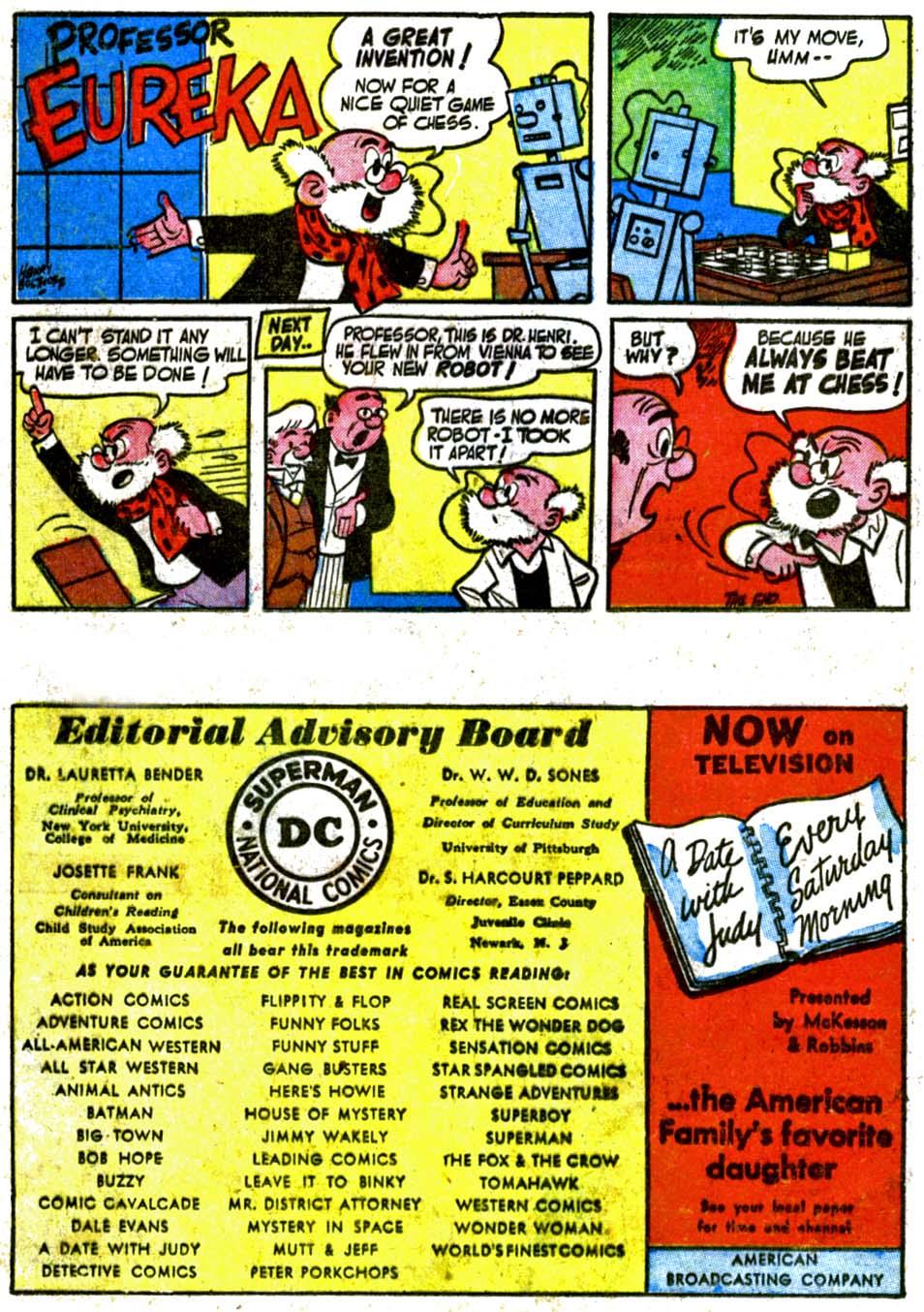 Read online Adventure Comics (1938) comic -  Issue #177 - 24