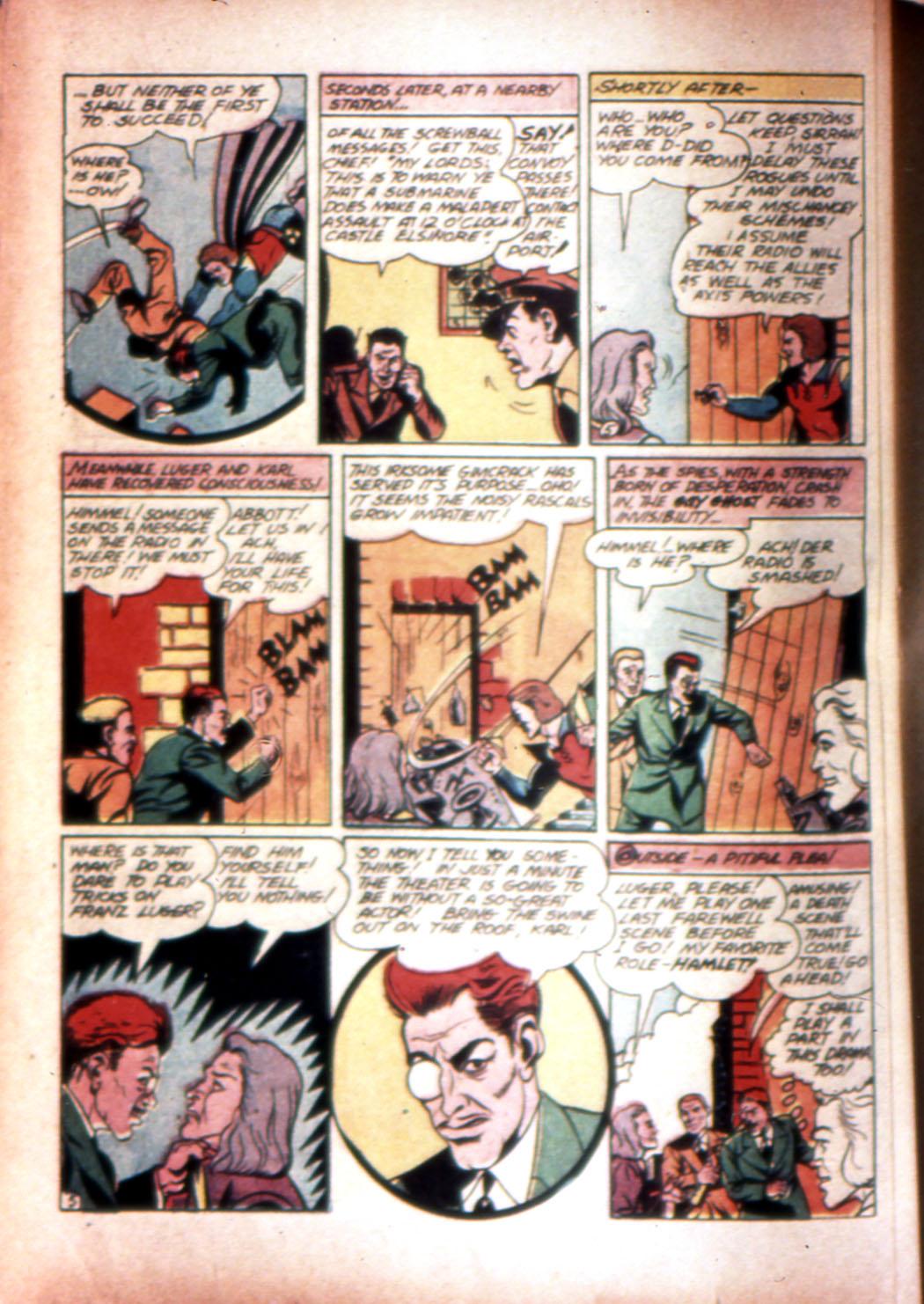 Read online Sensation (Mystery) Comics comic -  Issue #20 - 36