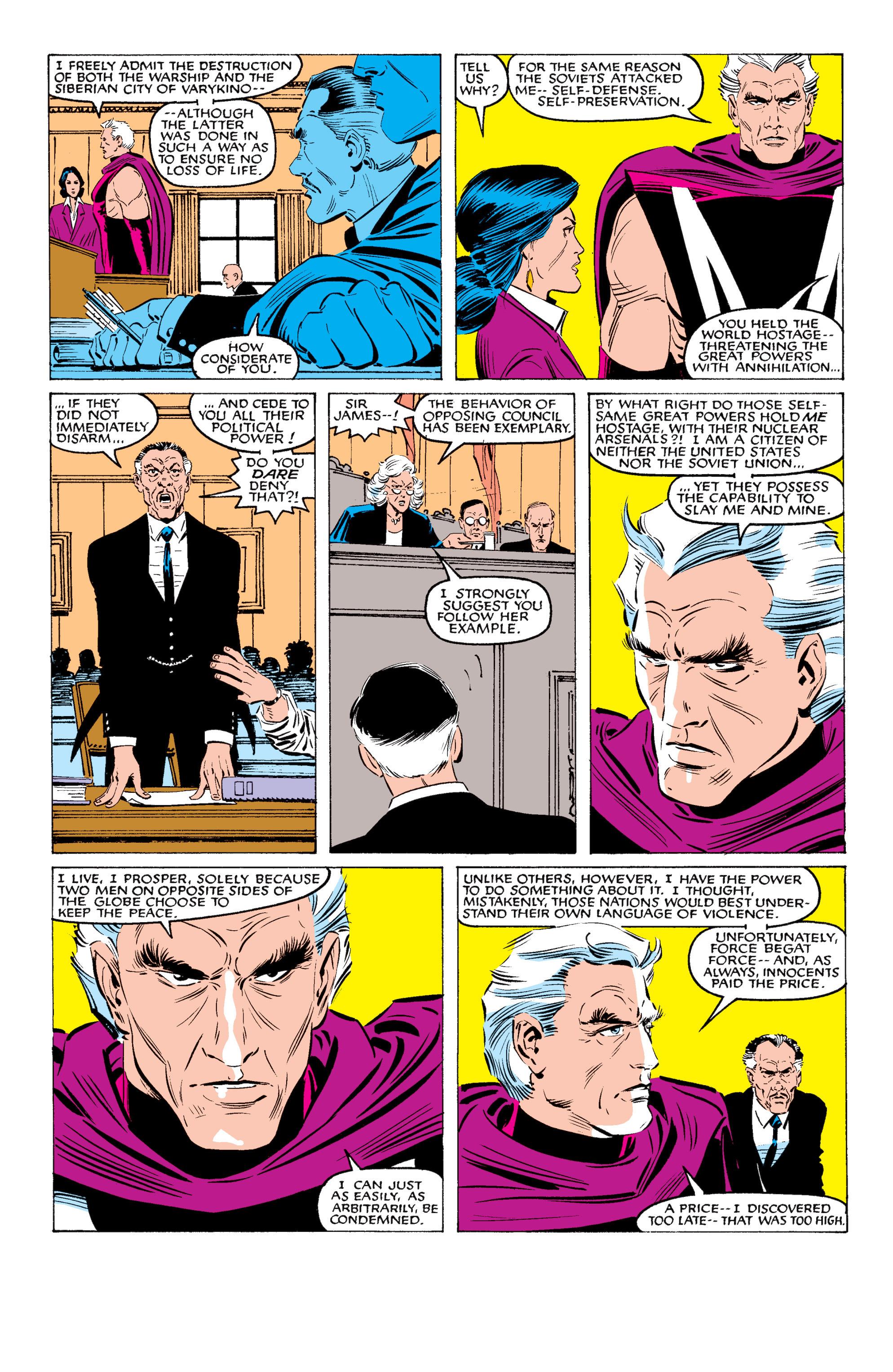 Read online Uncanny X-Men (1963) comic -  Issue #200 - 26