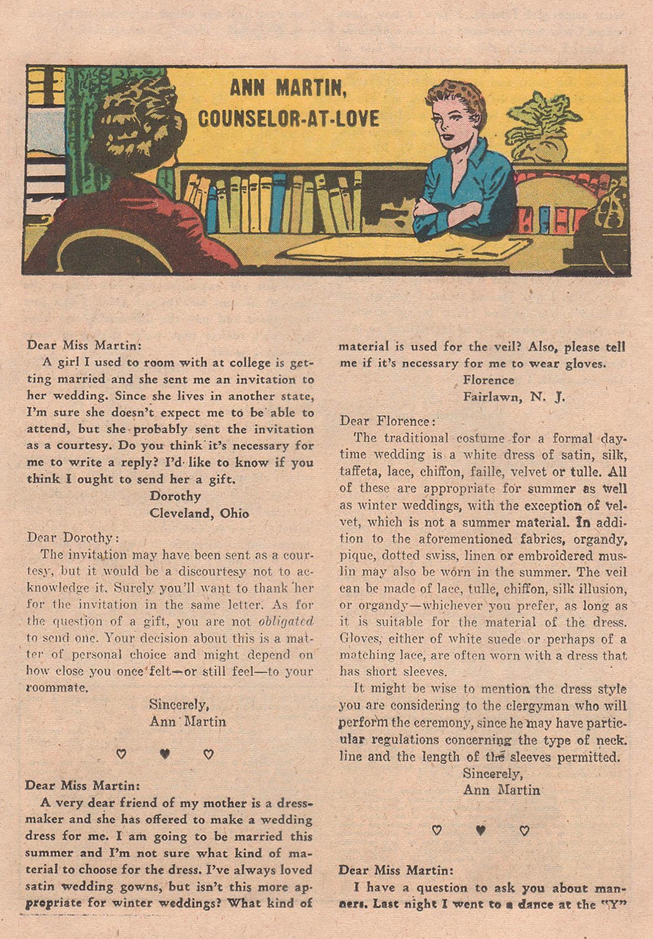 Read online Secret Hearts comic -  Issue #39 - 17