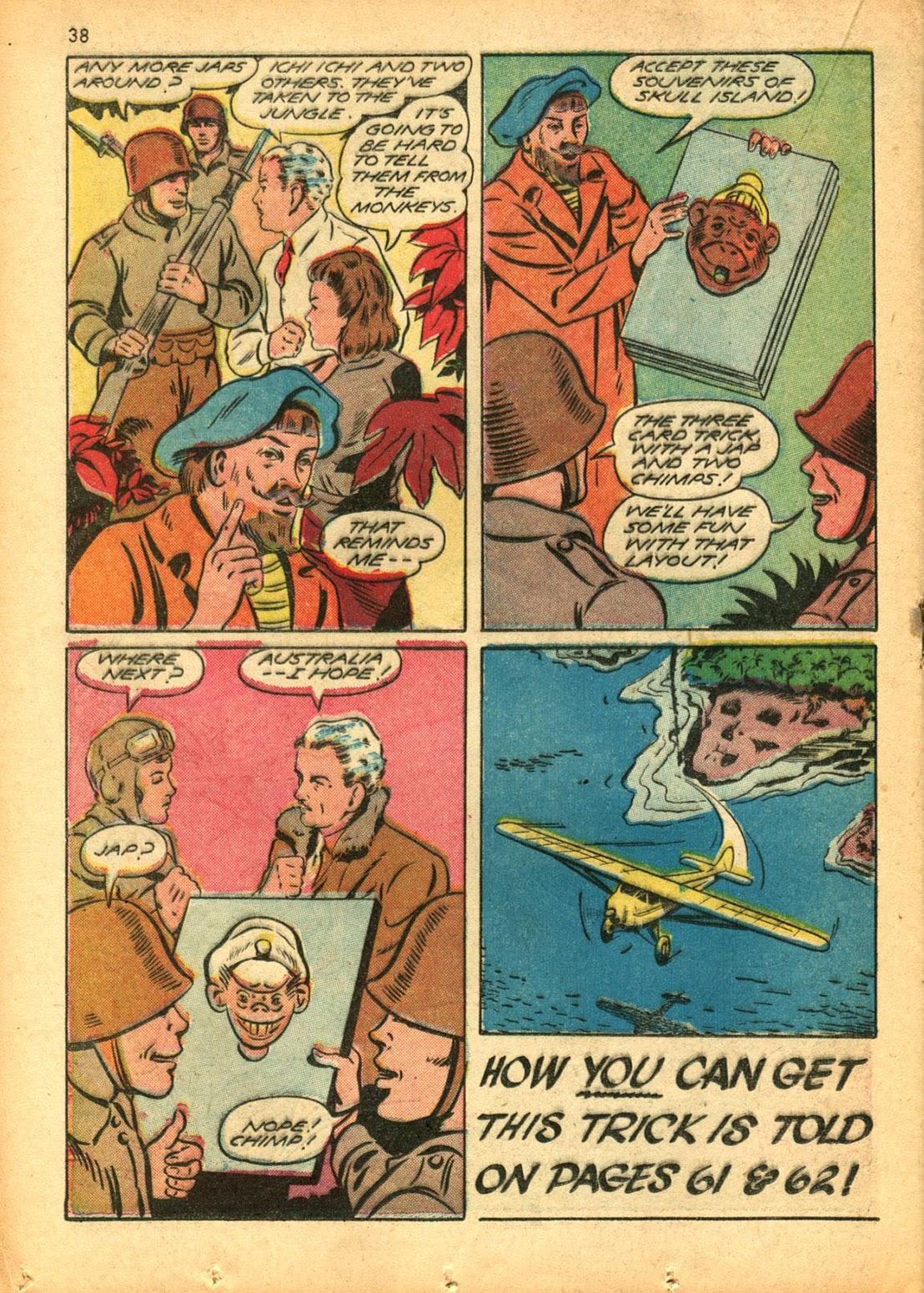 Read online Super-Magician Comics comic -  Issue #15 - 37