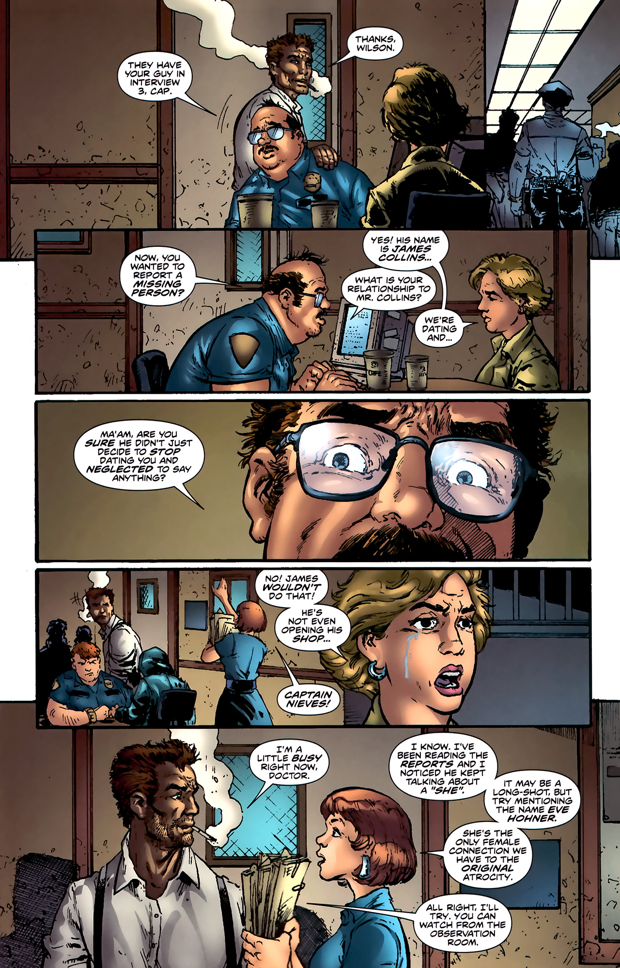 Read online ShadowHawk (2010) comic -  Issue #4 - 10