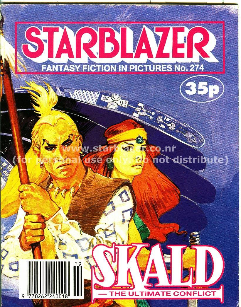 Starblazer issue 274 - Page 1