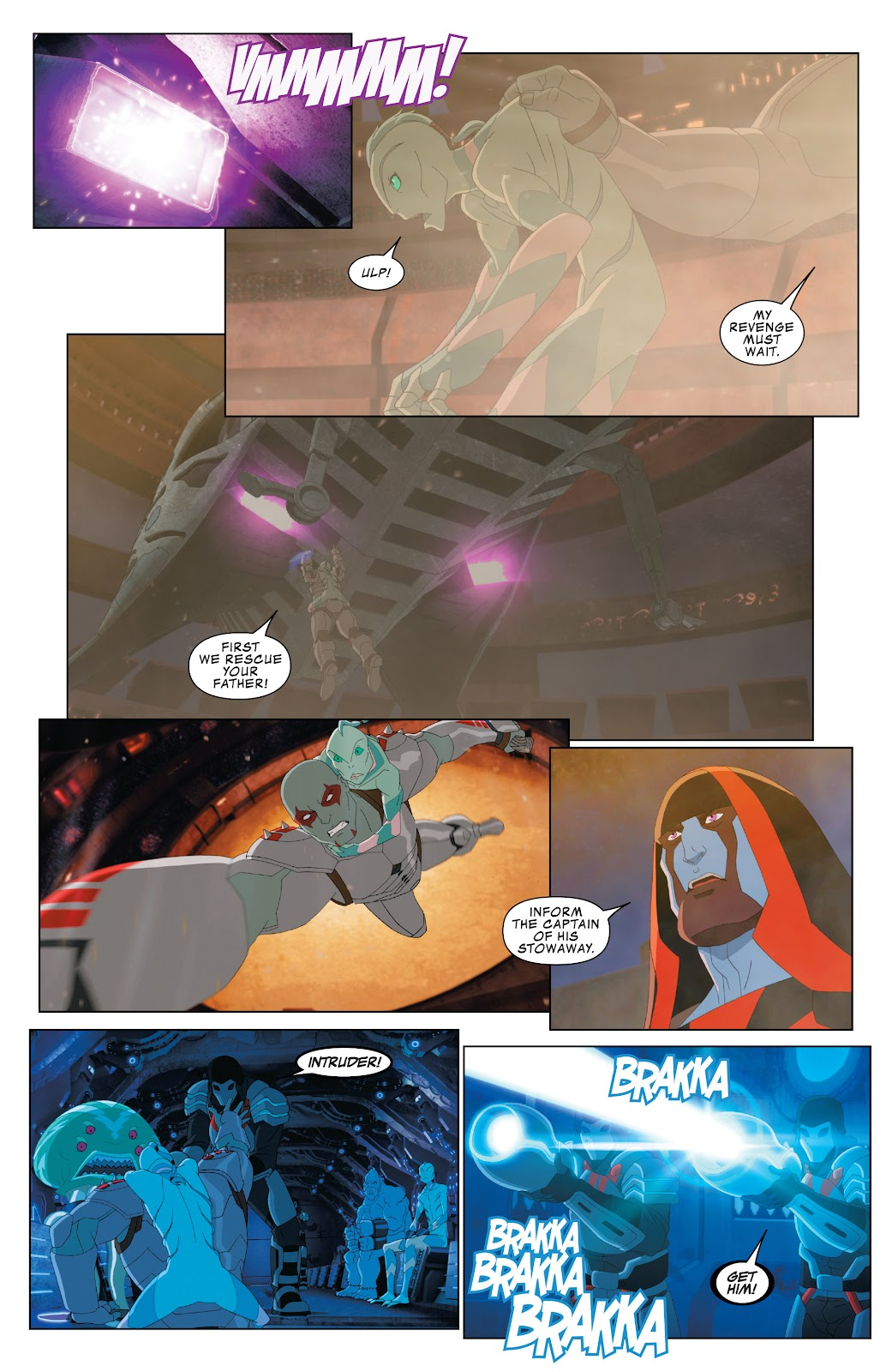 Read online Marvel Universe Guardians of the Galaxy [I] comic -  Issue #3 - 19