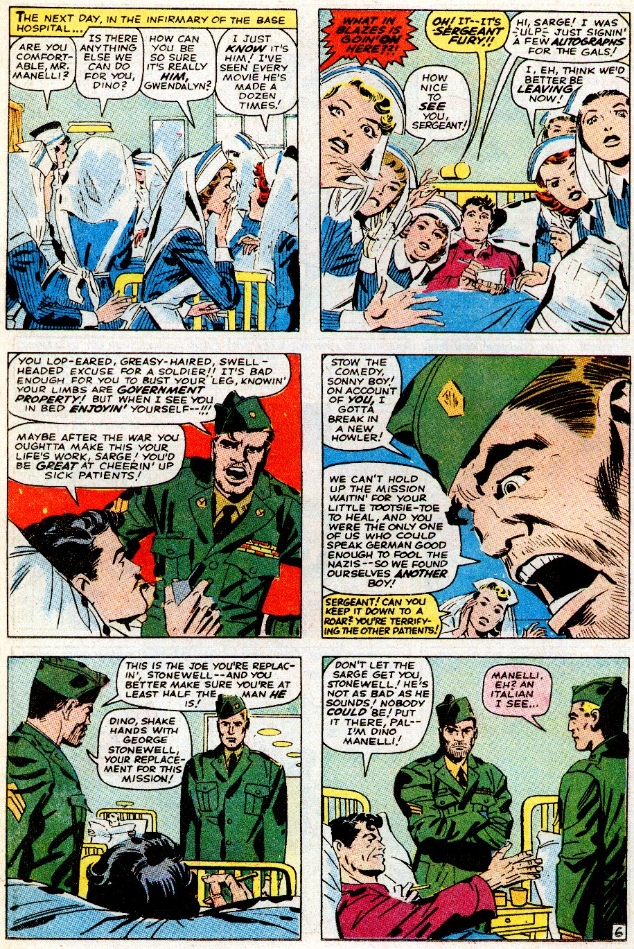 Read online Sgt. Fury comic -  Issue # _Special 5 - 8