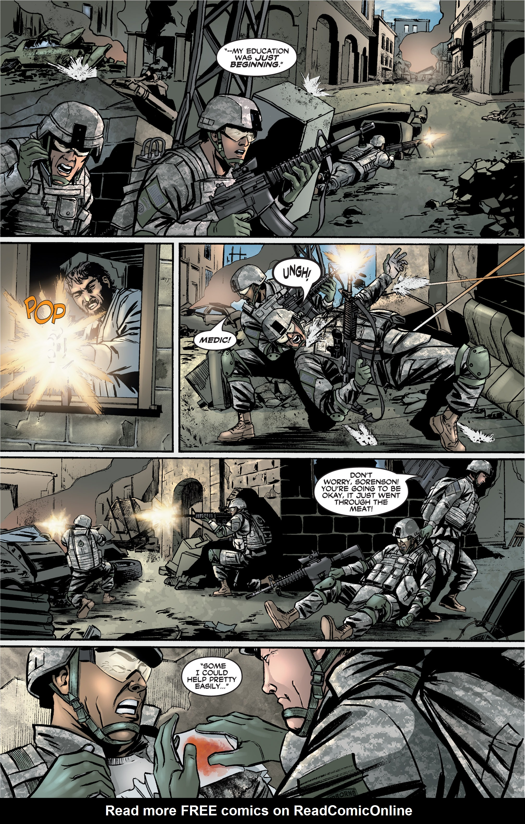 Read online America's Army comic -  Issue #2 - 16