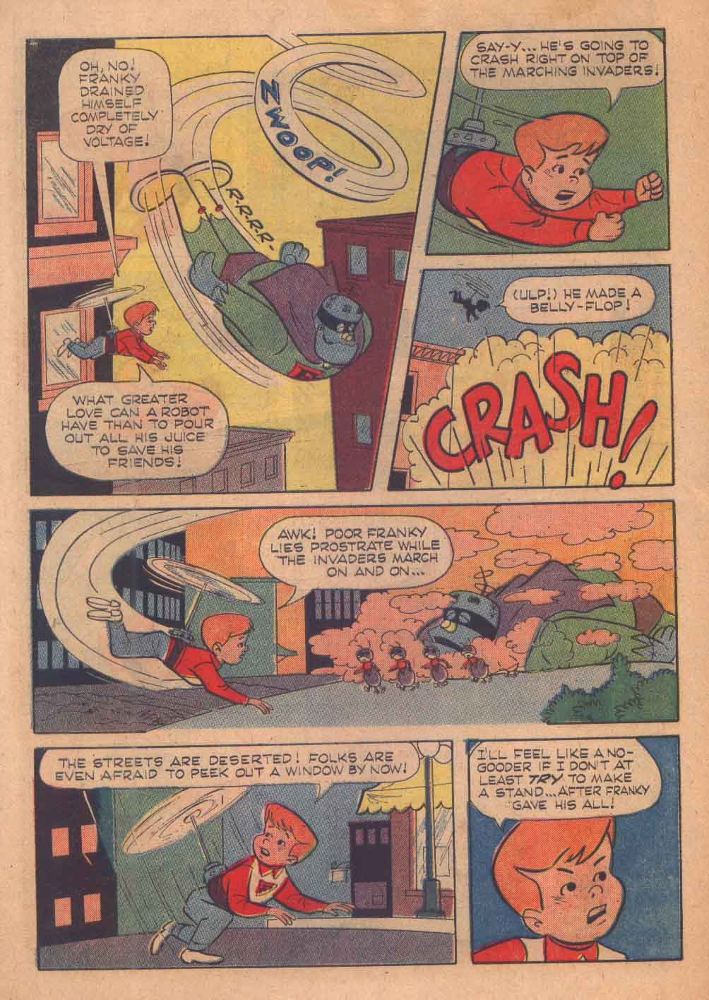 Read online Frankenstein, Jr. comic -  Issue # Full - 7