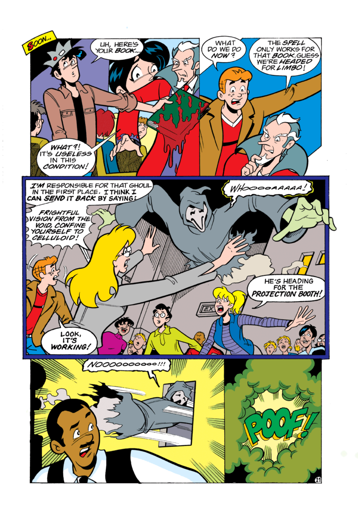 Read online Archie's Weird Mysteries comic -  Issue #2 - 21