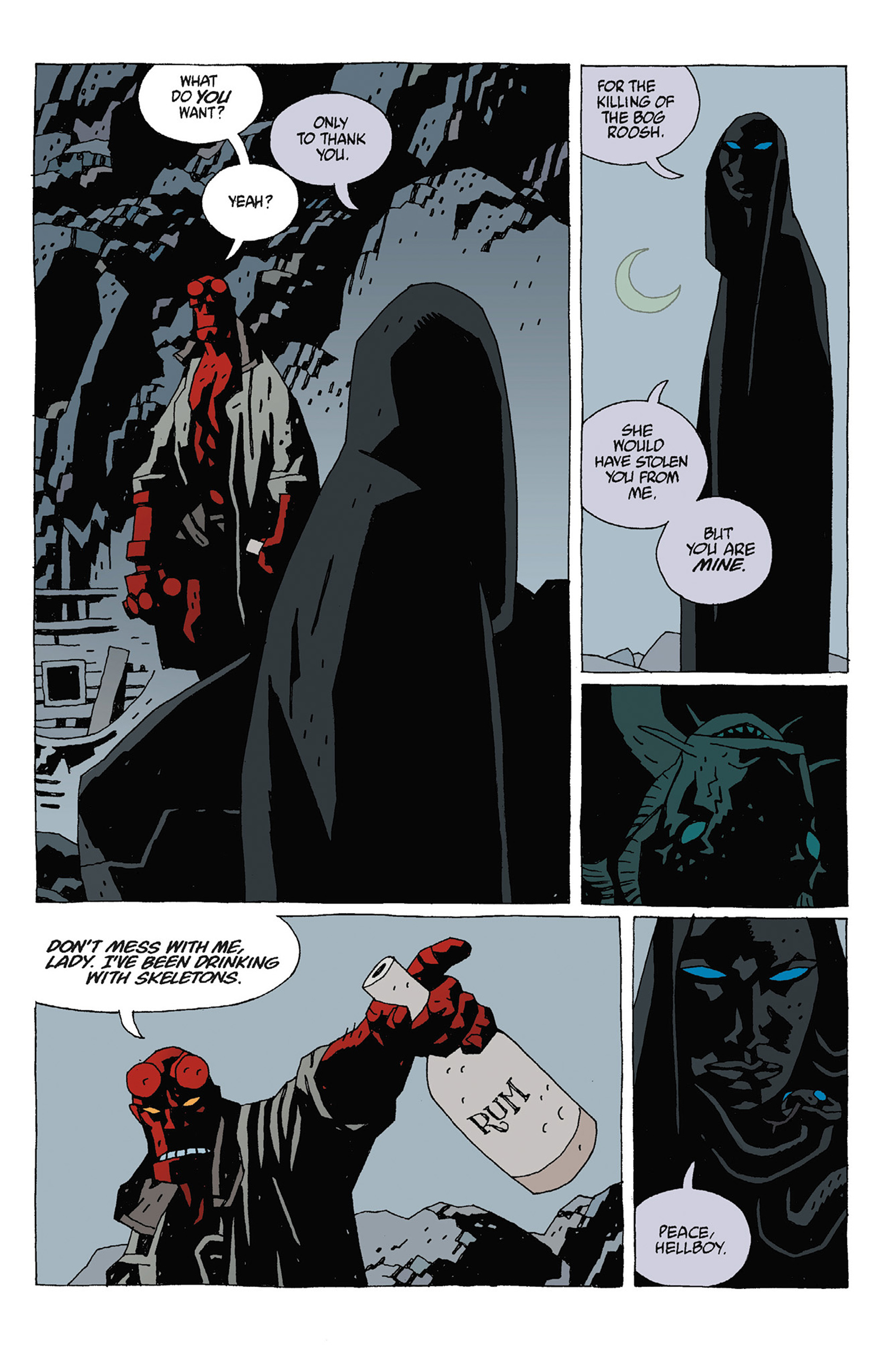Read online Hellboy: Strange Places comic -  Issue # TPB - 75