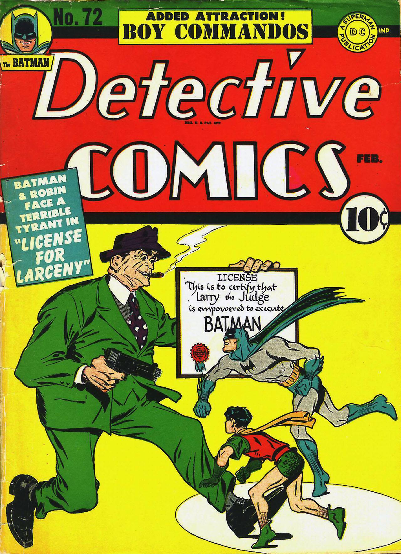 Read online Detective Comics (1937) comic -  Issue #72 - 2