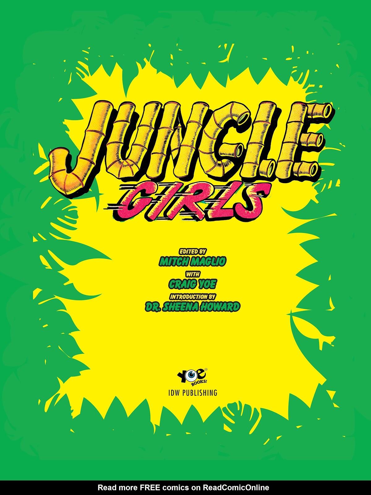 Read online Jungle Girls comic -  Issue # TPB (Part 1) - 3