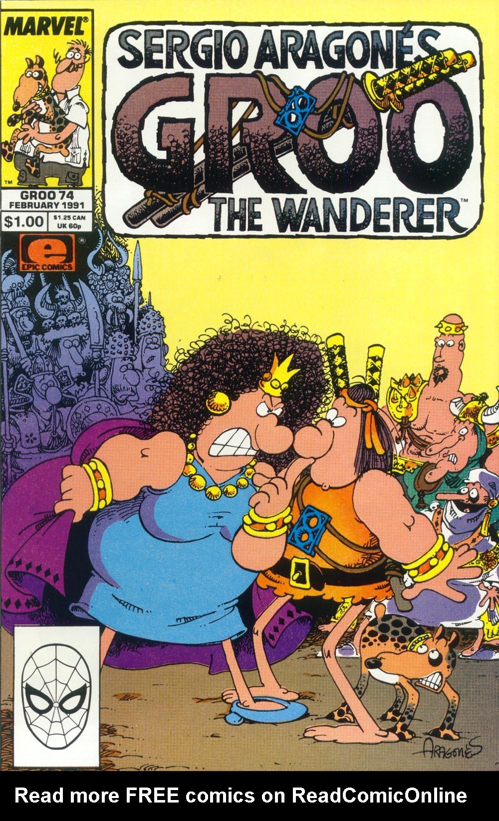 Read online Sergio Aragonés Groo the Wanderer comic -  Issue #74 - 1