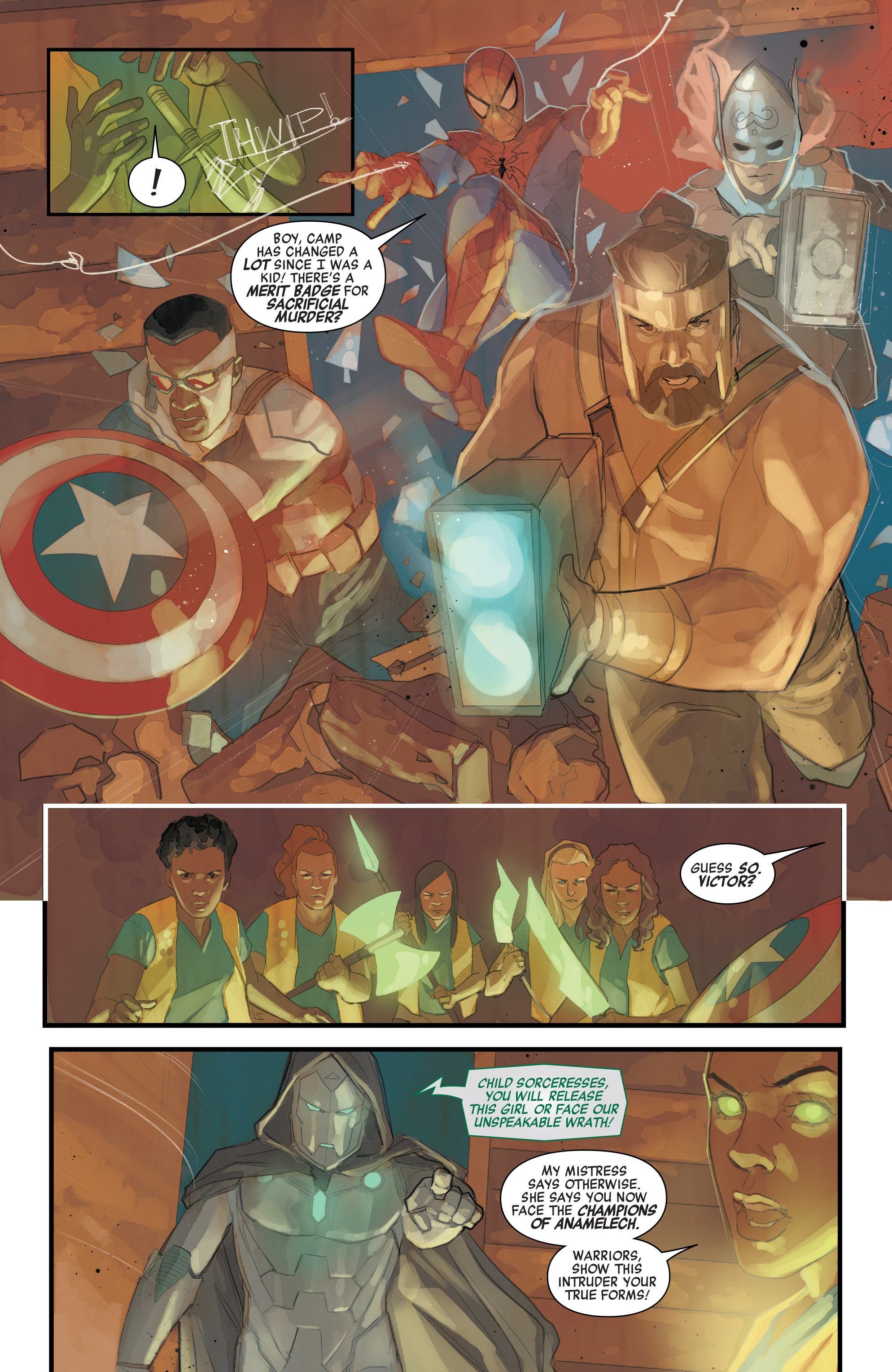 Read online Avengers (2016) comic -  Issue #7 - 16