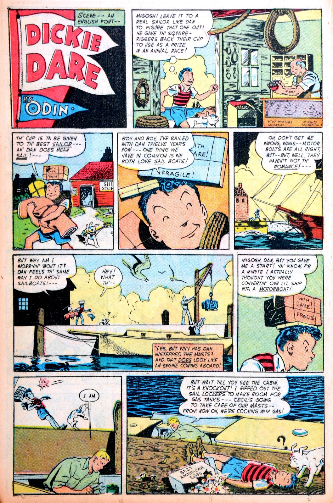 Read online Famous Funnies comic -  Issue #195 - 28