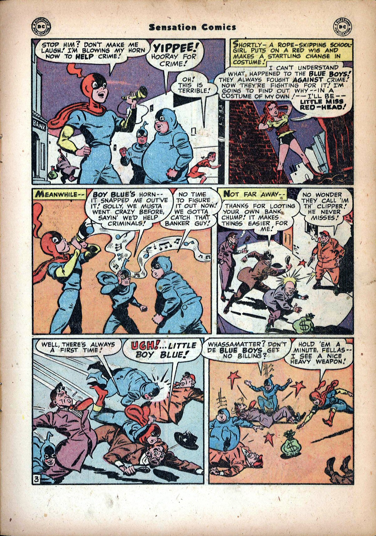 Read online Sensation (Mystery) Comics comic -  Issue #72 - 19