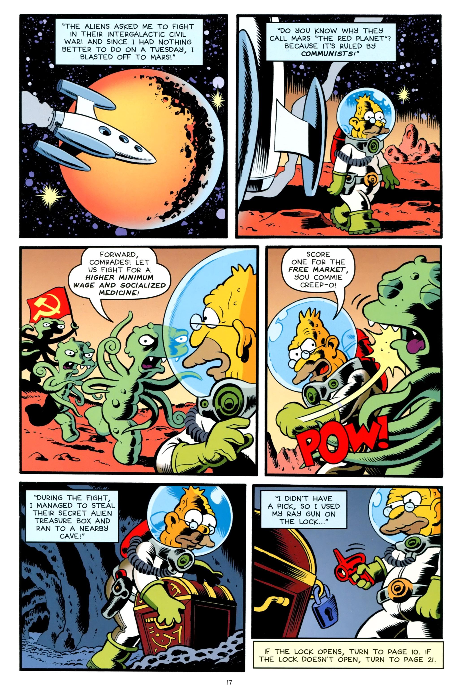 Read online Simpsons One-Shot Wonders: Grampa comic -  Issue # Full - 19