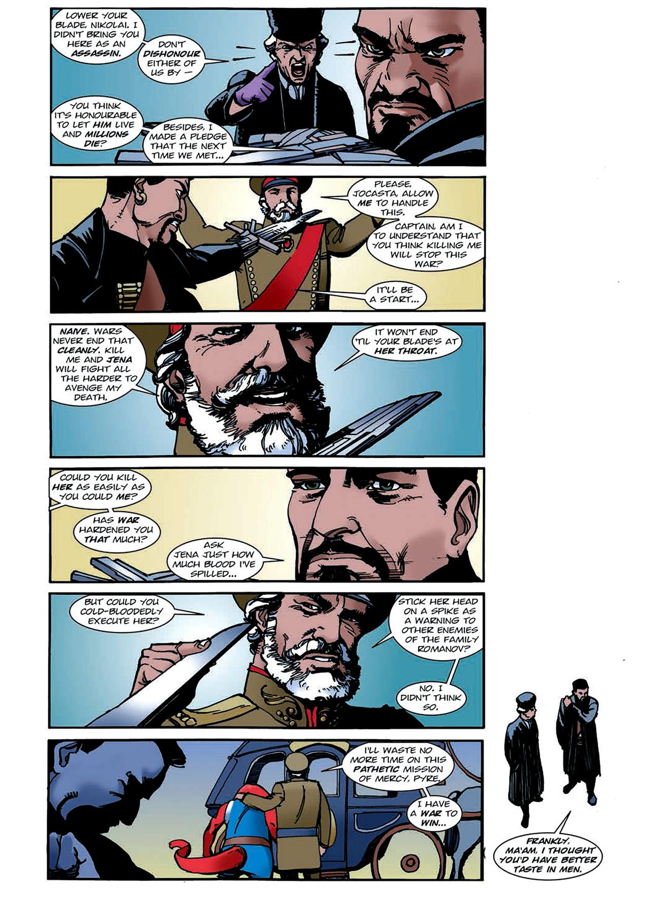 Read online Nikolai Dante comic -  Issue # TPB 4 - 125