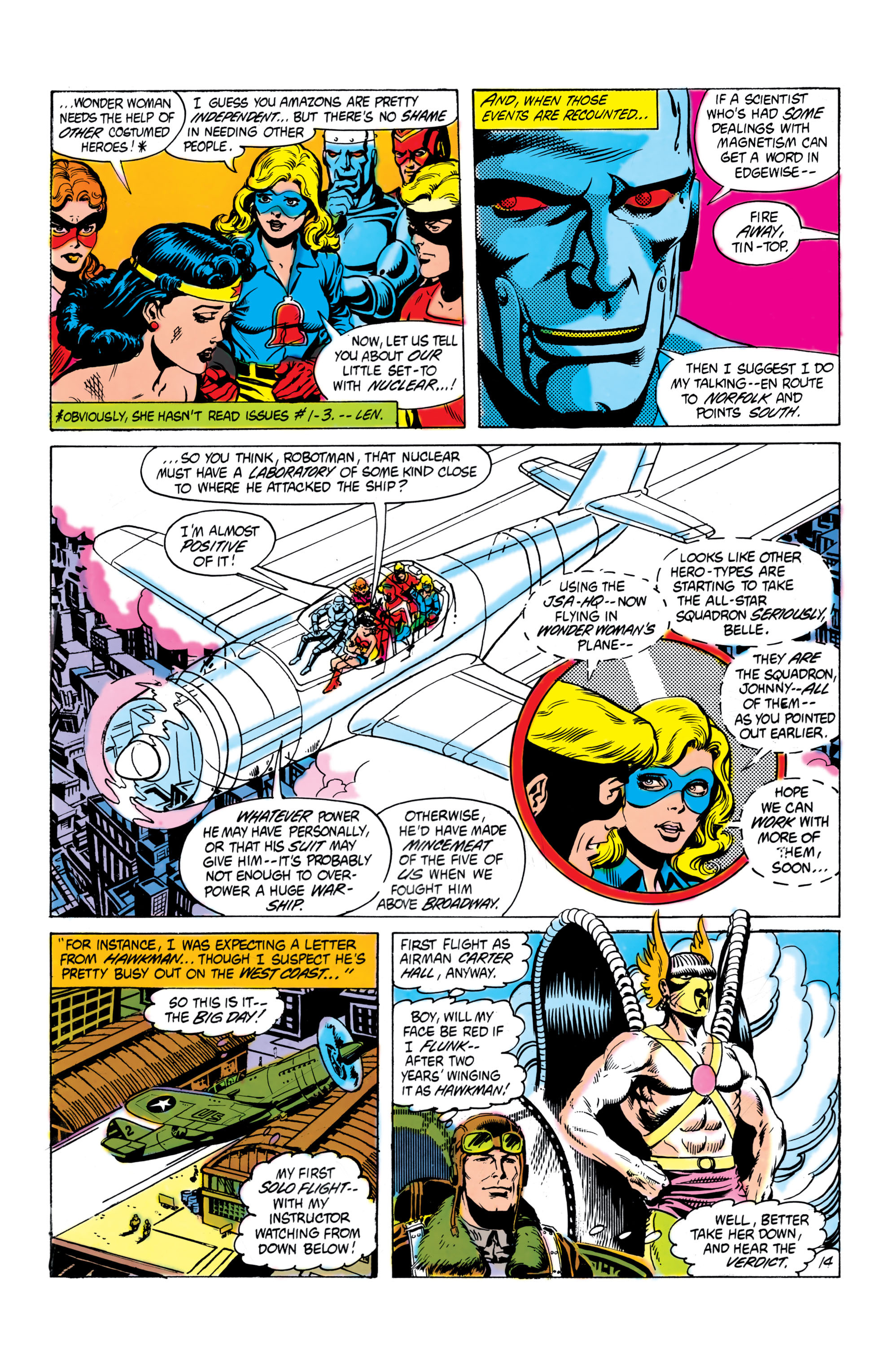 Read online All-Star Squadron comic -  Issue #16 - 15