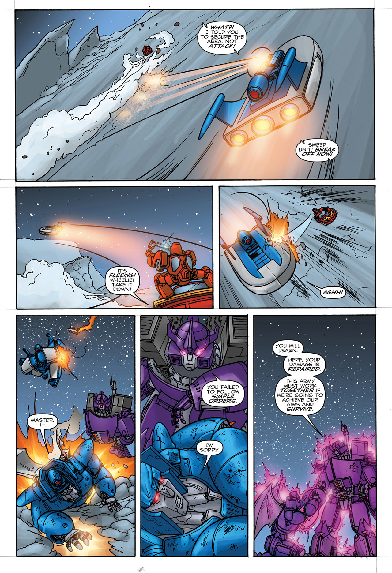 Read online Transformers: Heart of Darkness comic -  Issue #4 - 24