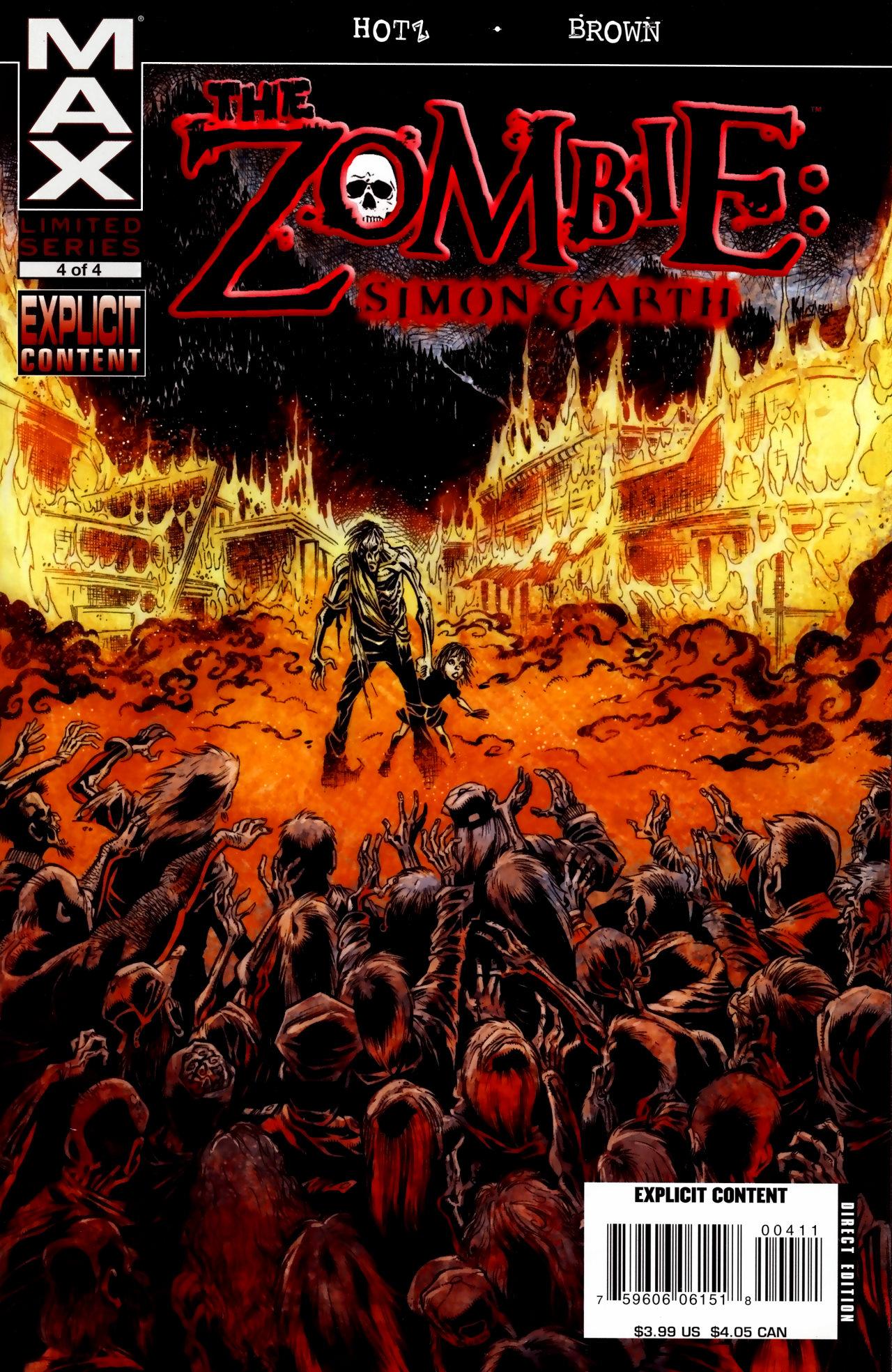 The Zombie: Simon Garth 4 Page 1