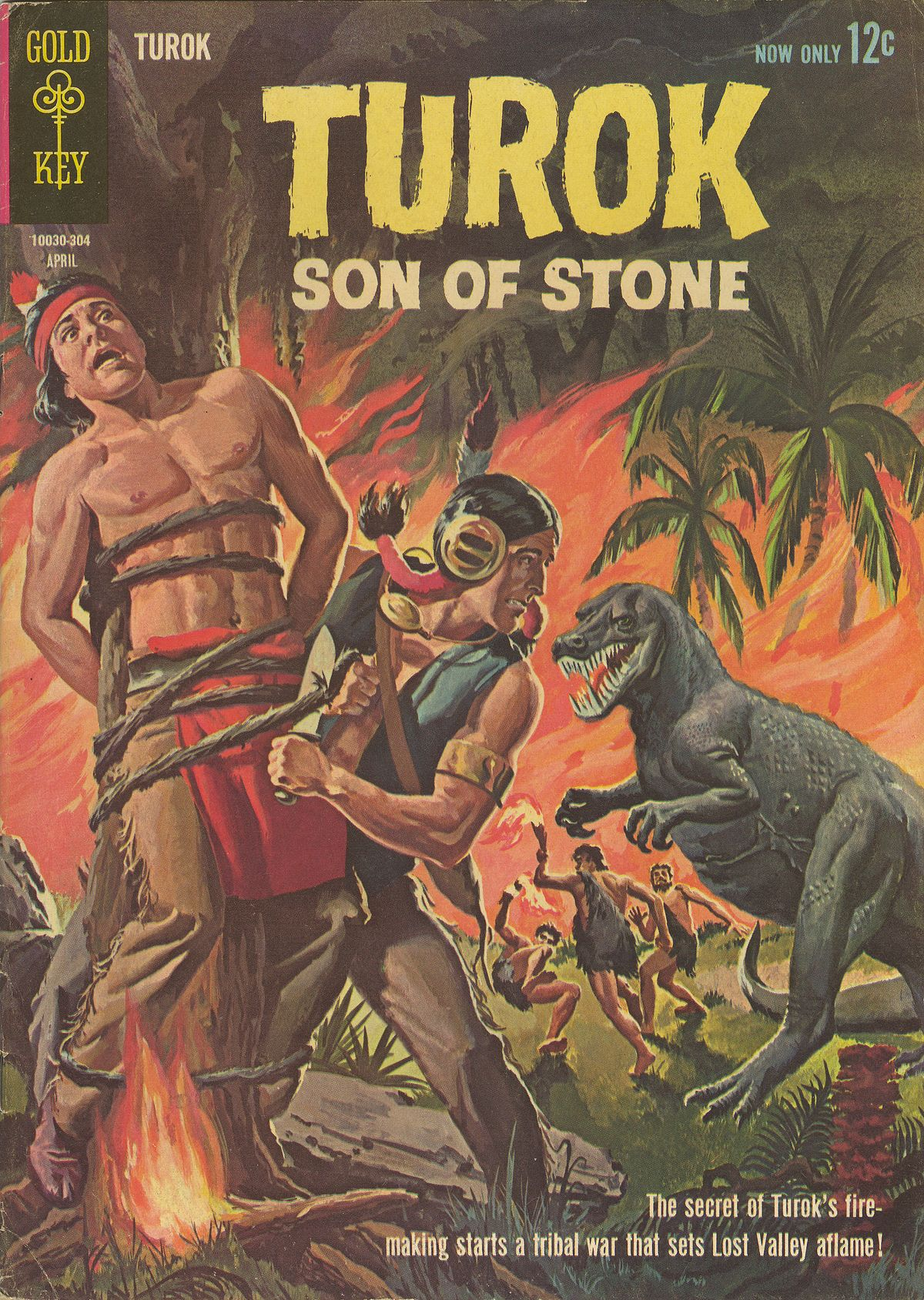 Read online Turok, Son of Stone comic -  Issue #32 - 1