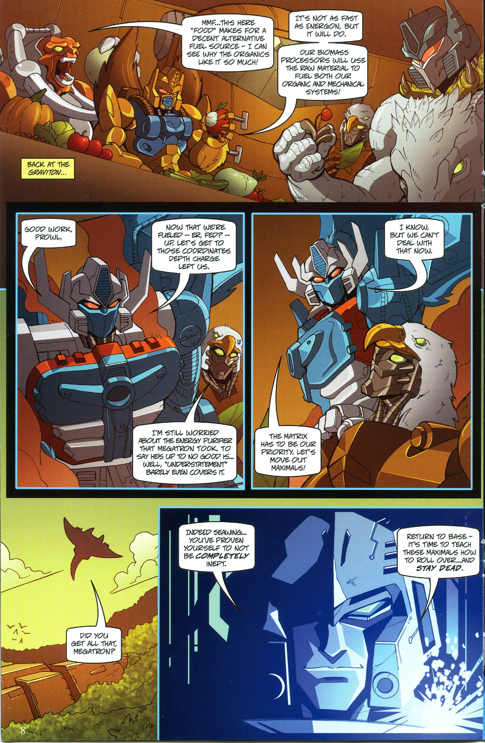 Read online Transformers: Collectors' Club comic -  Issue #53 - 8