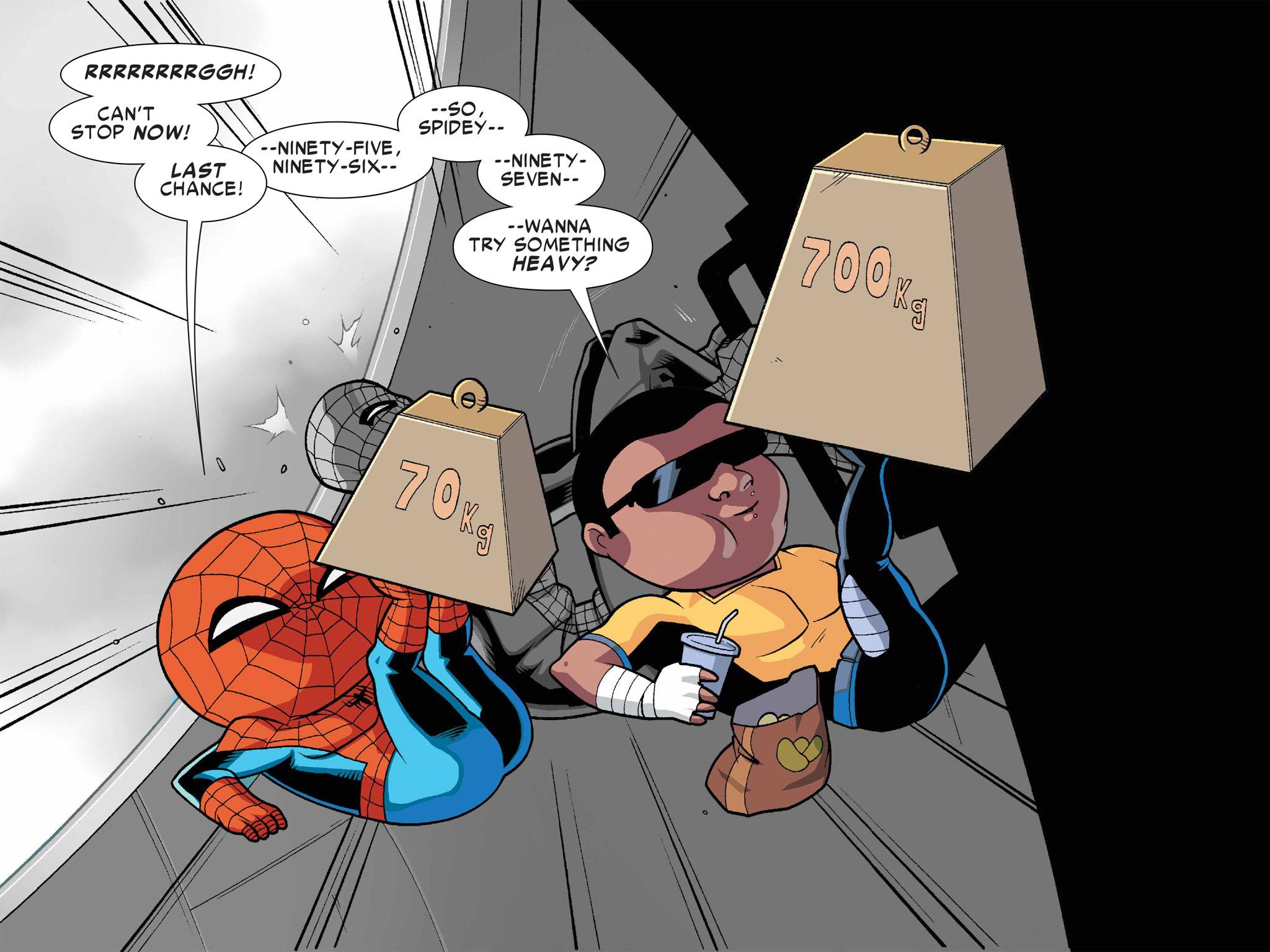 Read online Ultimate Spider-Man (Infinite Comics) (2016) comic -  Issue #1 - 33