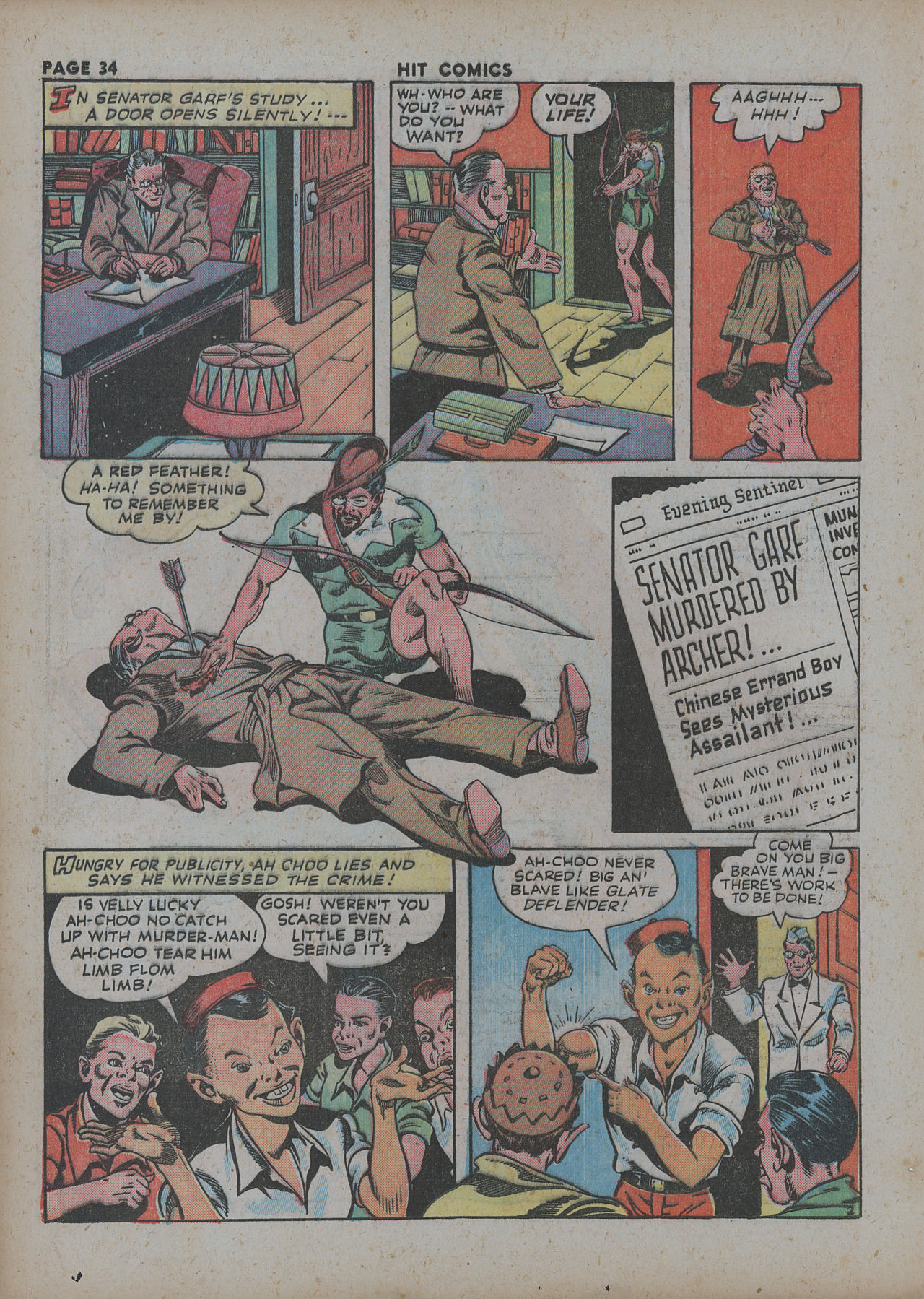 Read online Hit Comics comic -  Issue #27 - 36