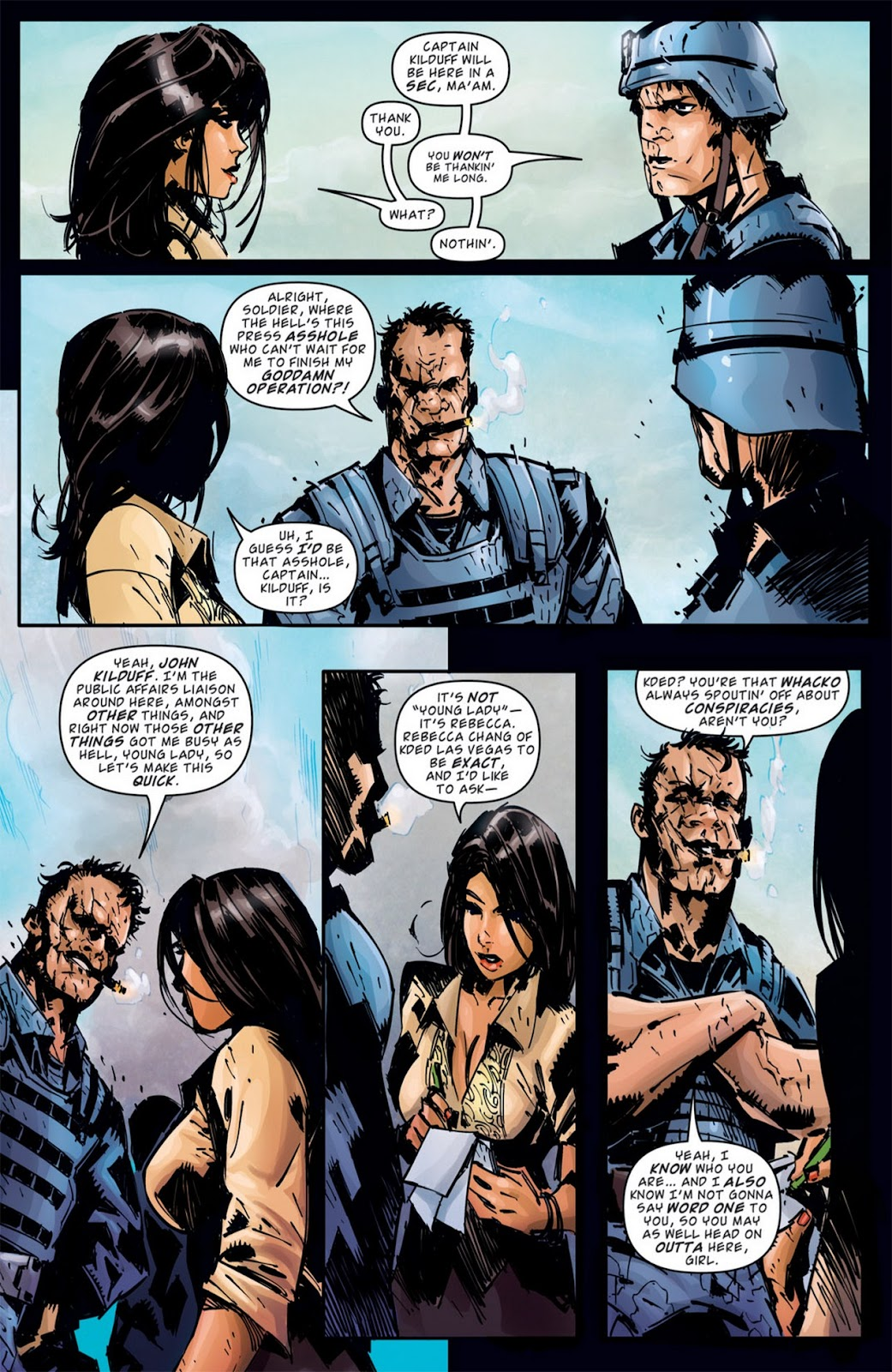 Read online Dead Rising: Road to Fortune comic -  Issue #2 - 11