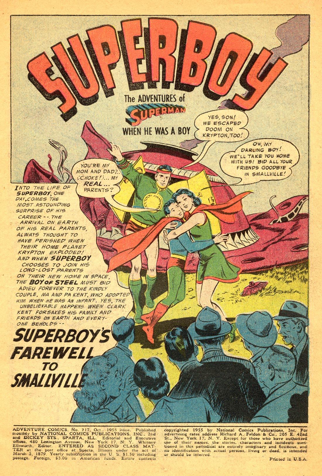 Read online Adventure Comics (1938) comic -  Issue #217 - 3