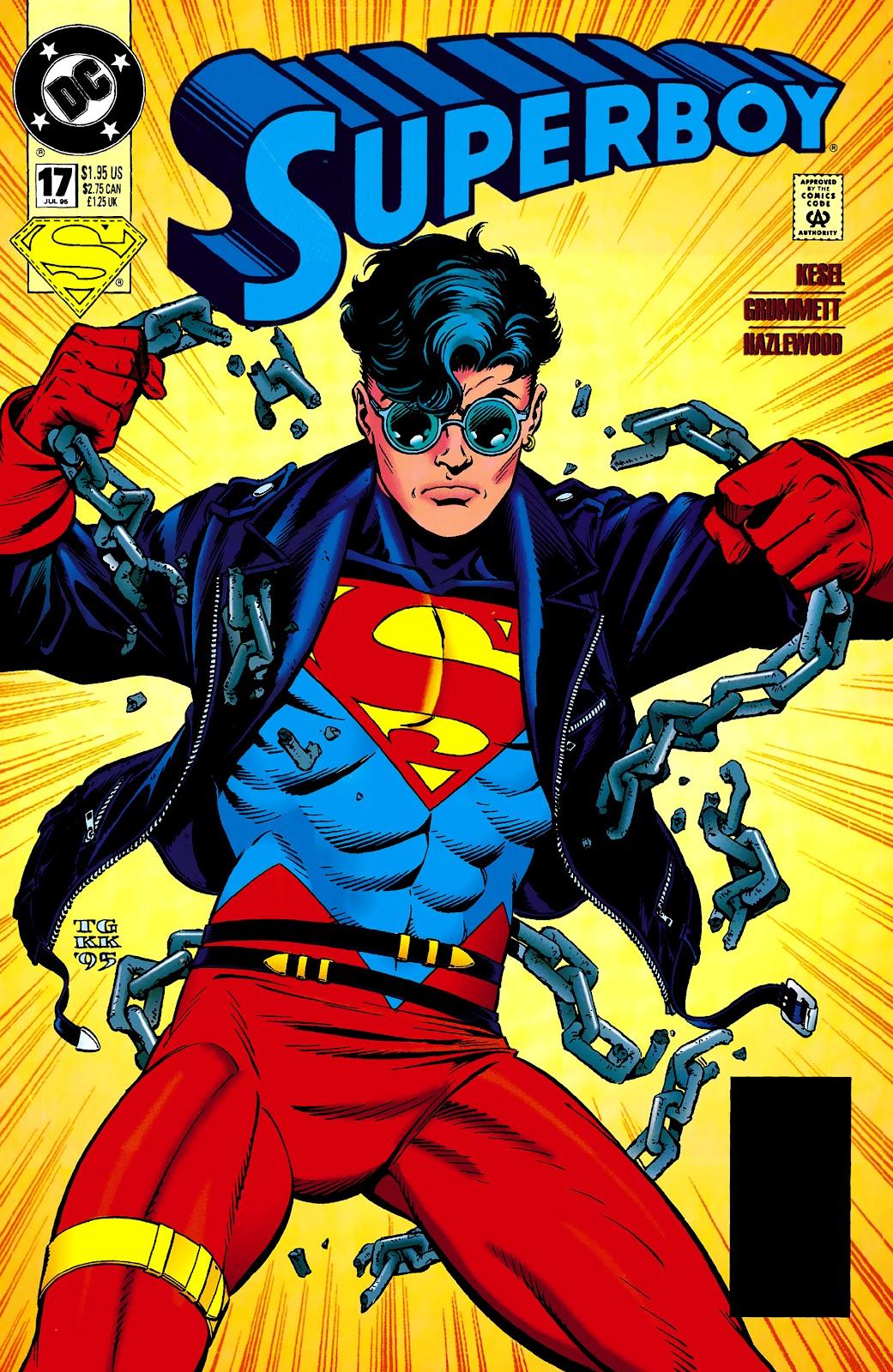 Superboy (1994) 17 Page 1