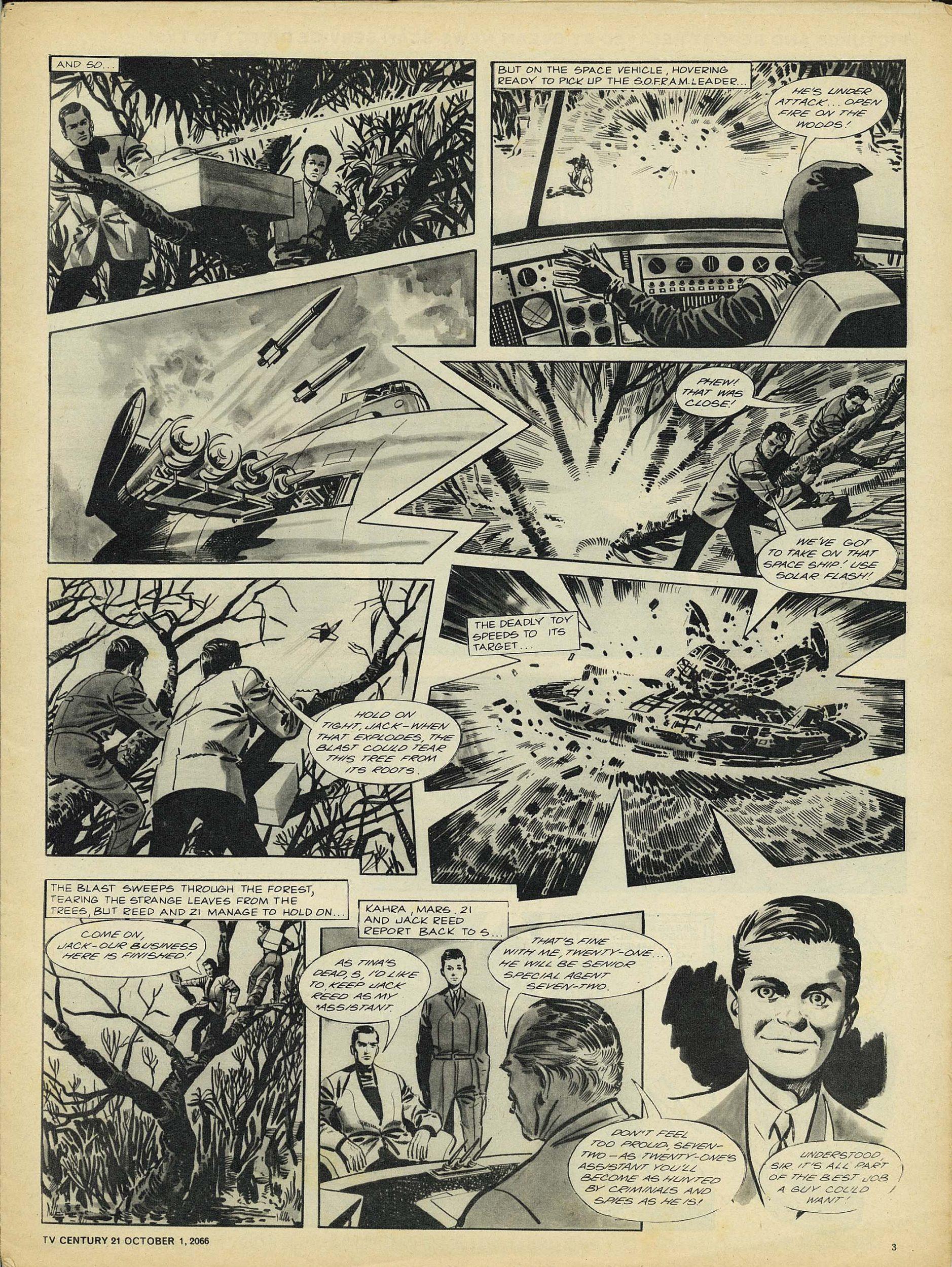 Read online TV Century 21 (TV 21) comic -  Issue #89 - 3