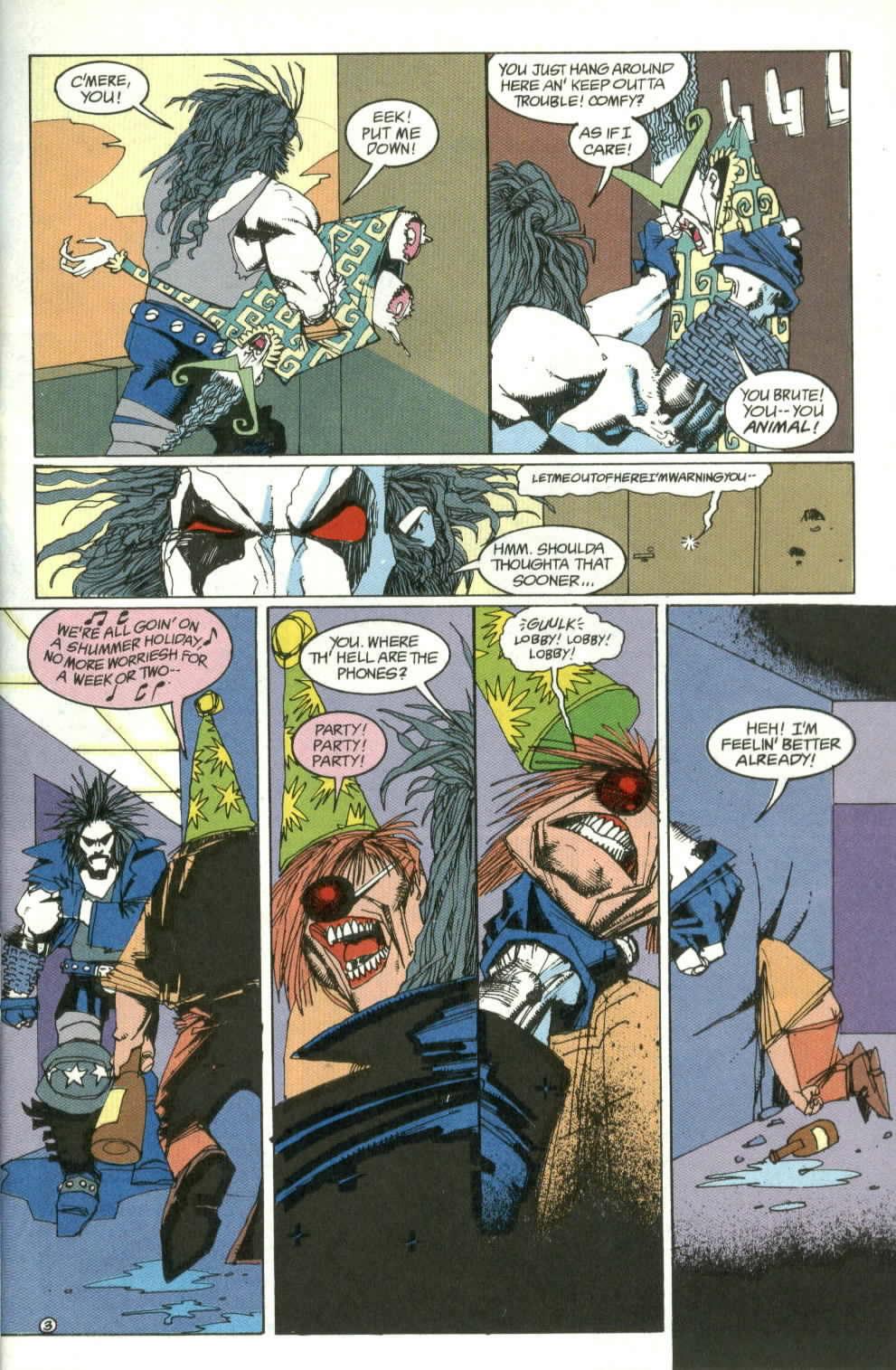 Read online Lobo (1990) comic -  Issue #4 - 4