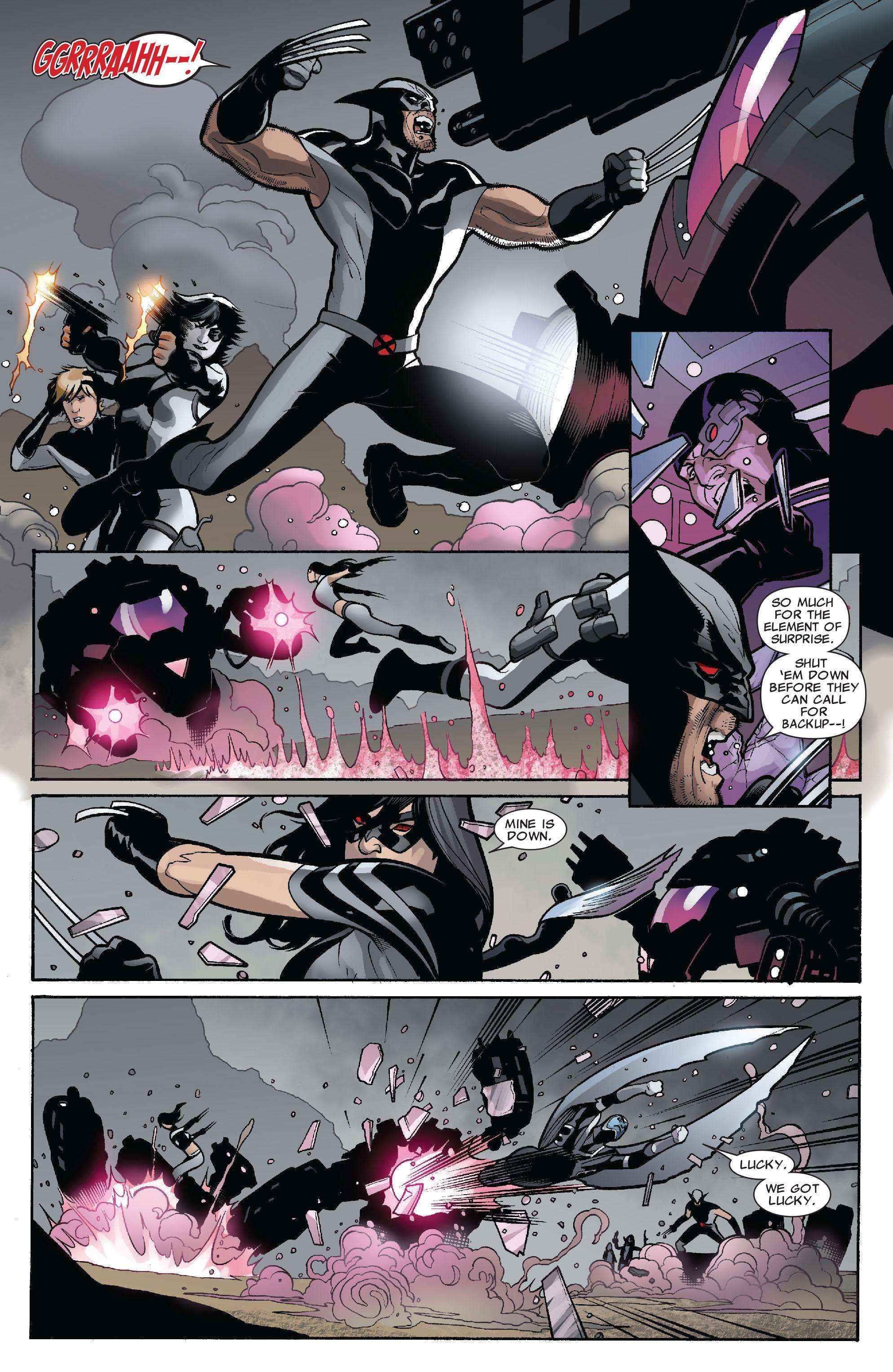 Read online Uncanny X-Men (1963) comic -  Issue #525 - 19