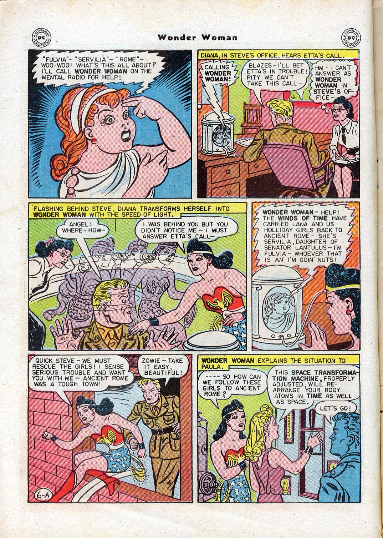 Read online Wonder Woman (1942) comic -  Issue #17 - 8
