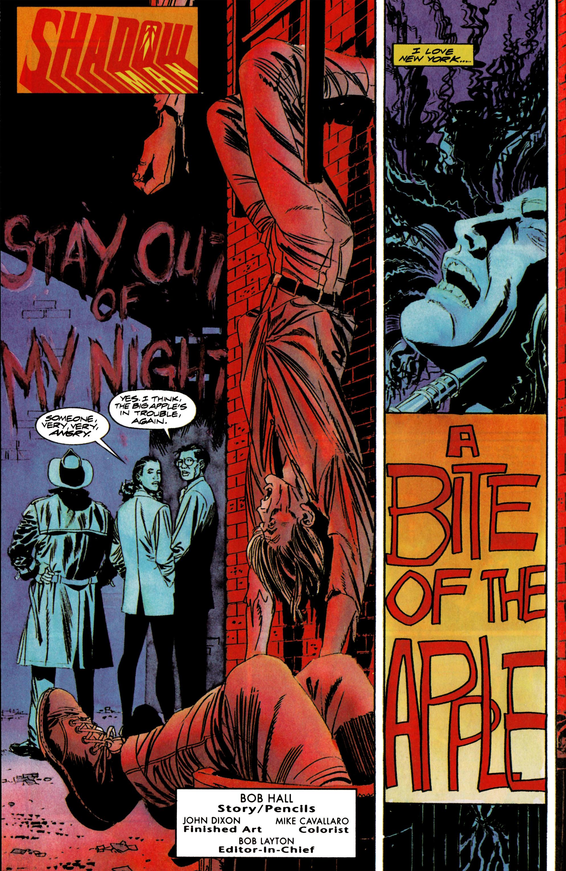 Read online Shadowman (1992) comic -  Issue #16 - 3