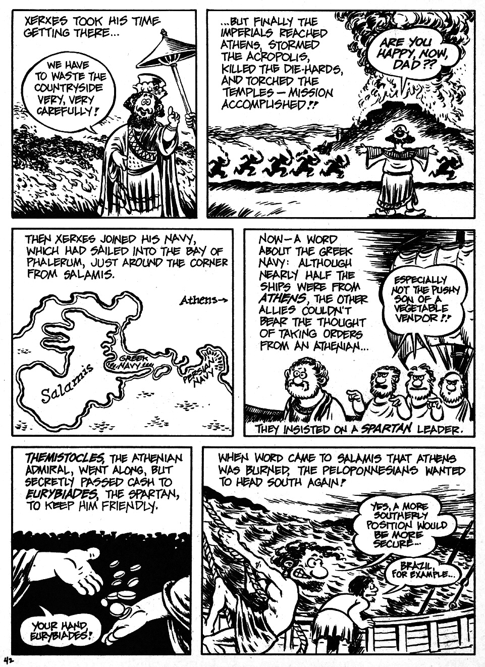 Read online The Cartoon History of the Universe comic -  Issue #6 - 44