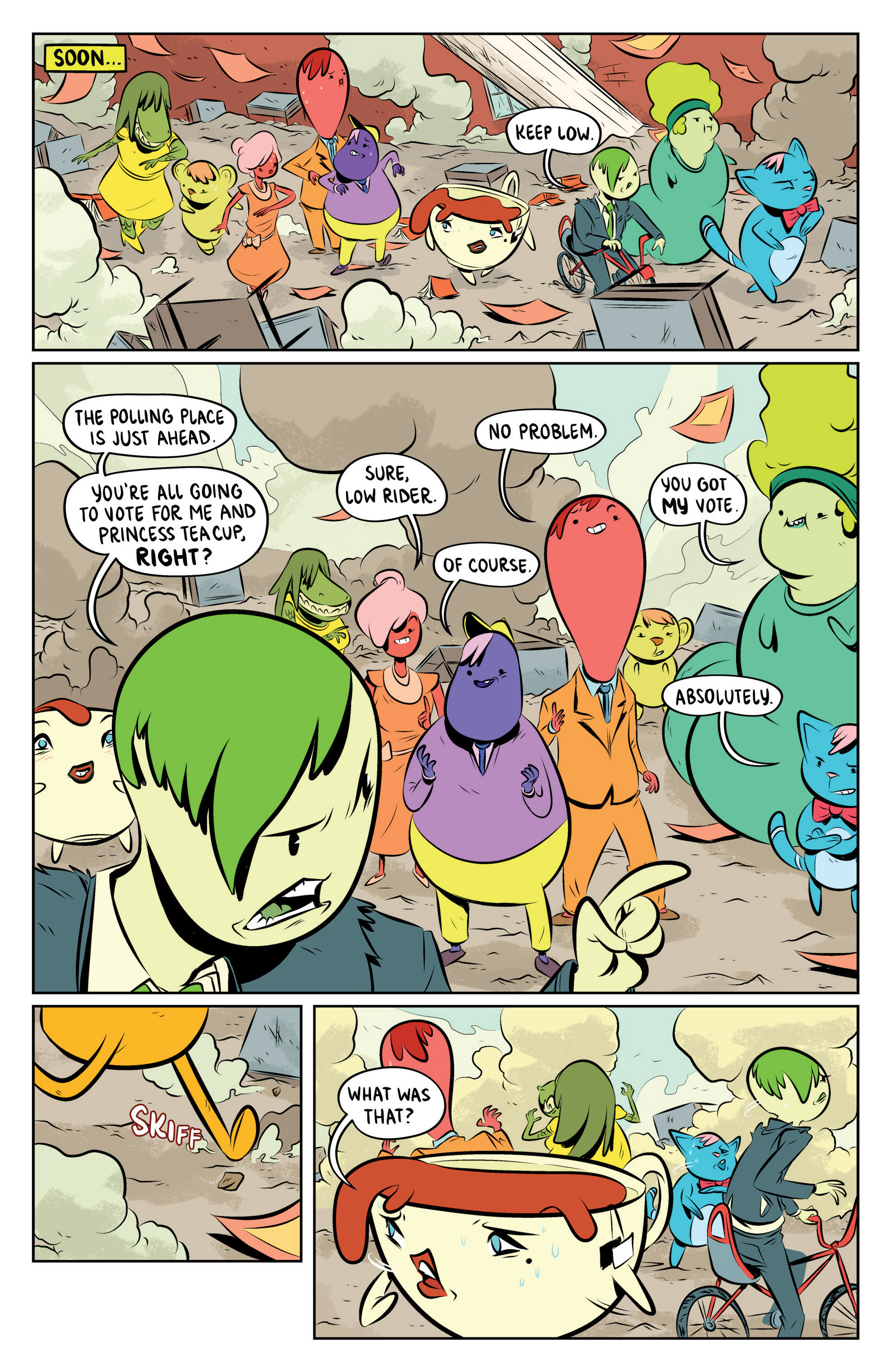 Read online Adventure Time: The Flip Side comic -  Issue #4 - 15