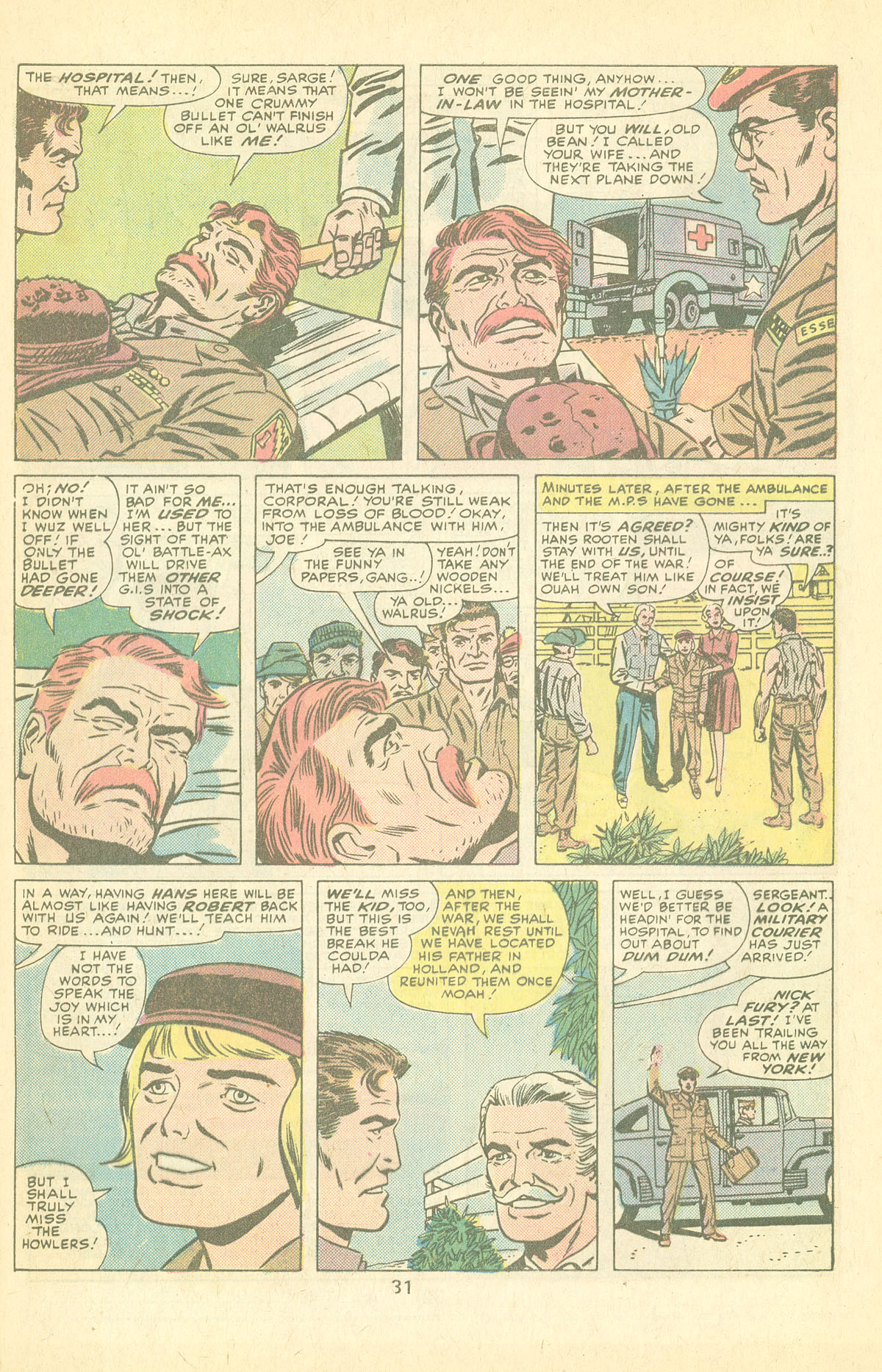 Read online Sgt. Fury comic -  Issue #126 - 33
