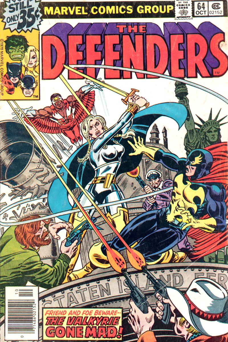 The Defenders (1972) issue 64 - Page 1