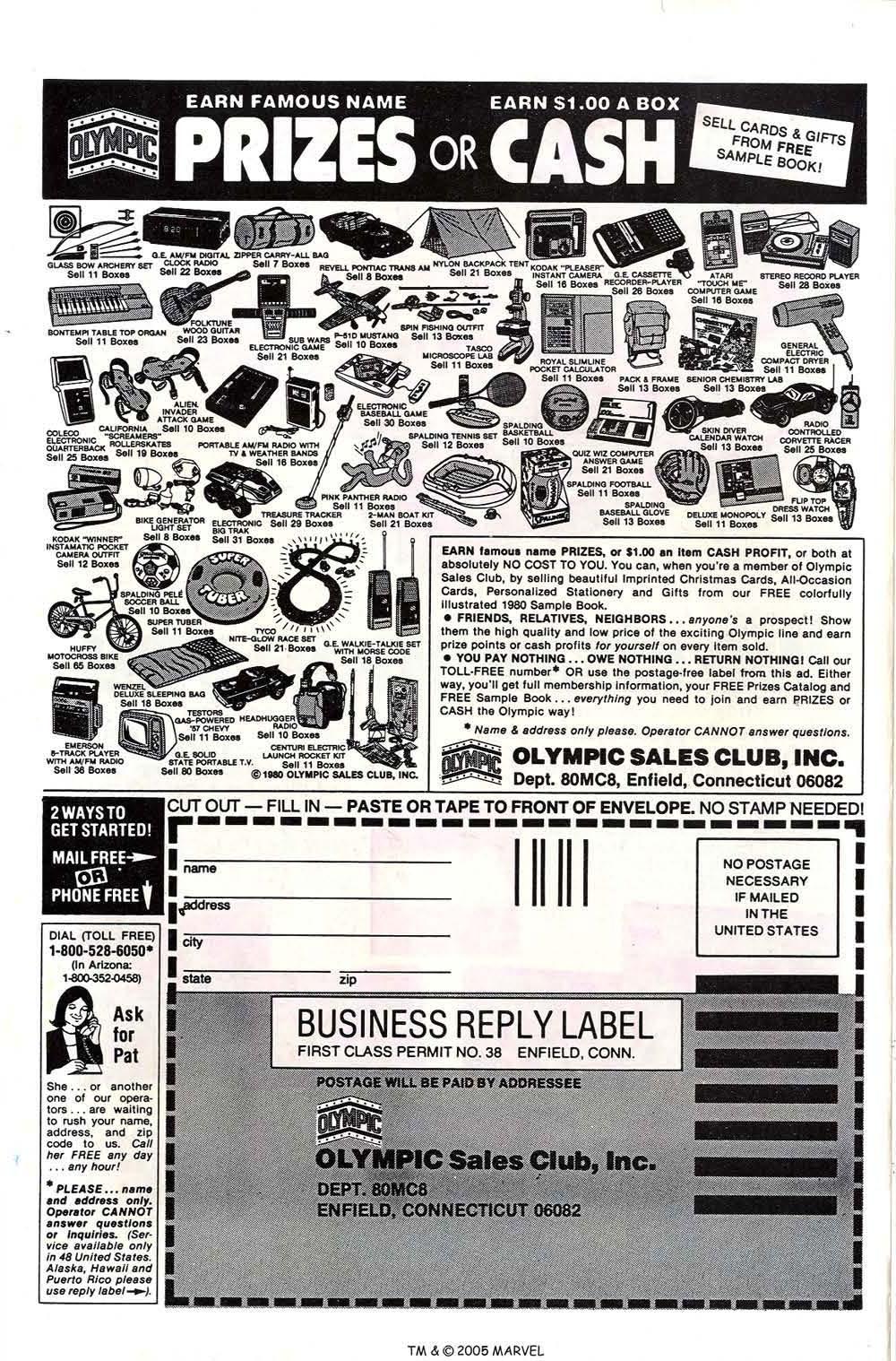 Read online Uncanny X-Men (1963) comic -  Issue # _Annual 4 - 51