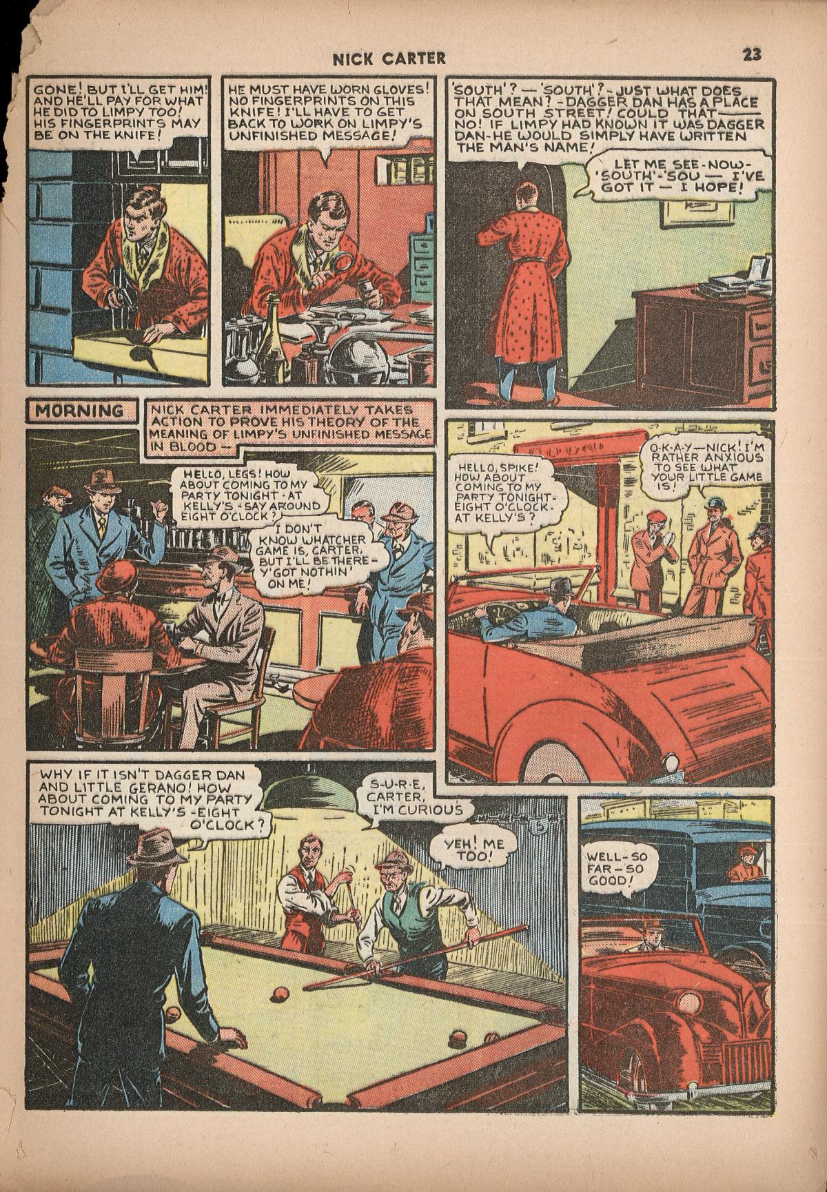 Read online Shadow Comics comic -  Issue #2 - 26