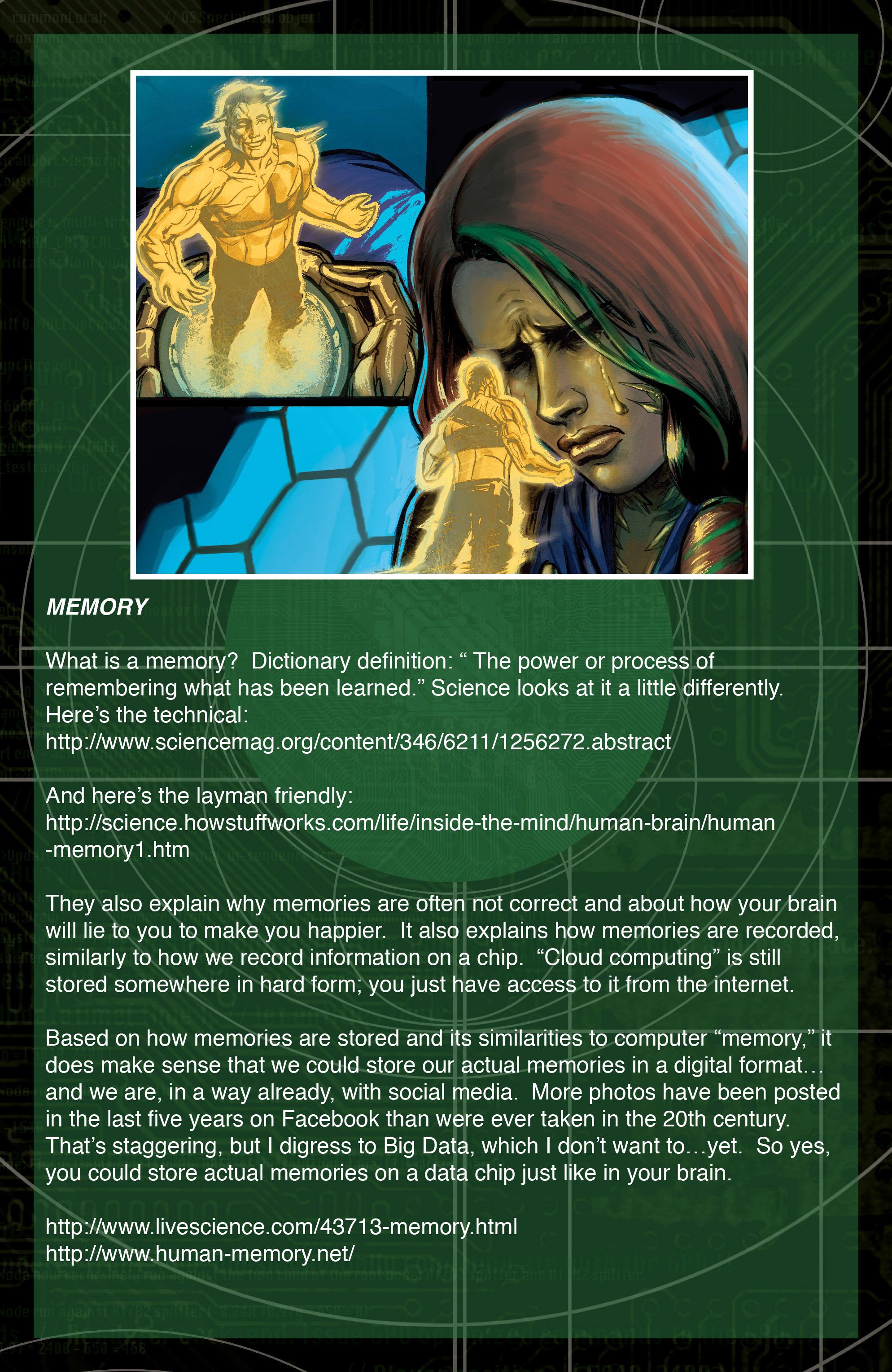 Read online IXth Generation Hidden Files comic -  Issue #1 - 18