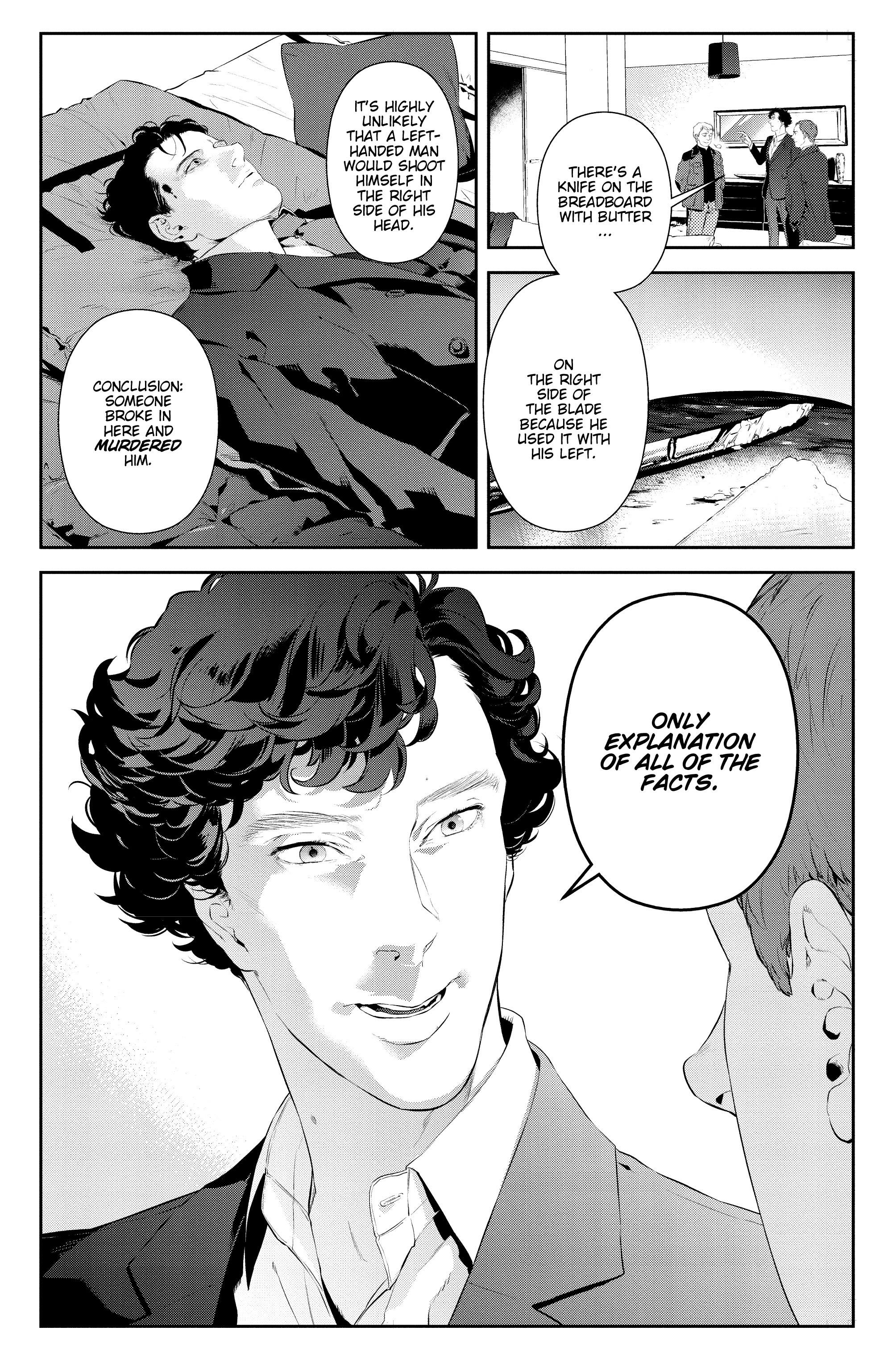 Read online Sherlock: The Blind Banker comic -  Issue #2 - 15