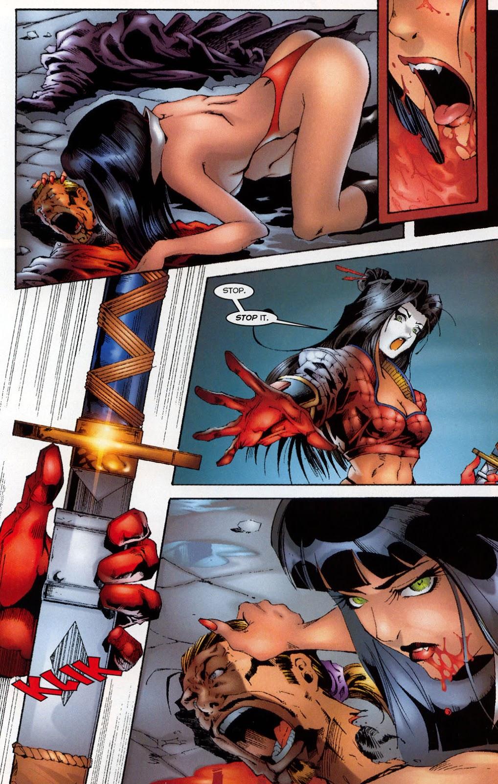 Shi/Vampirella issue Full - Page 10